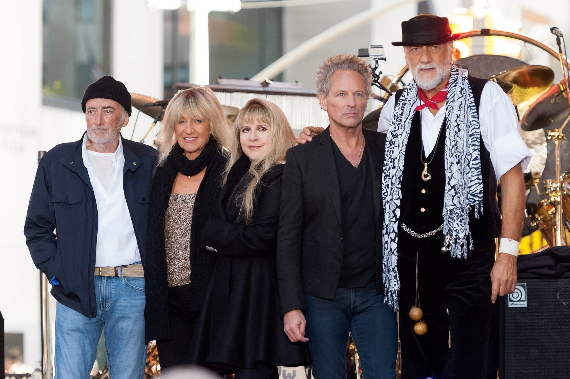 "Fleetwood Mac Performs On NBC's ""Today"""