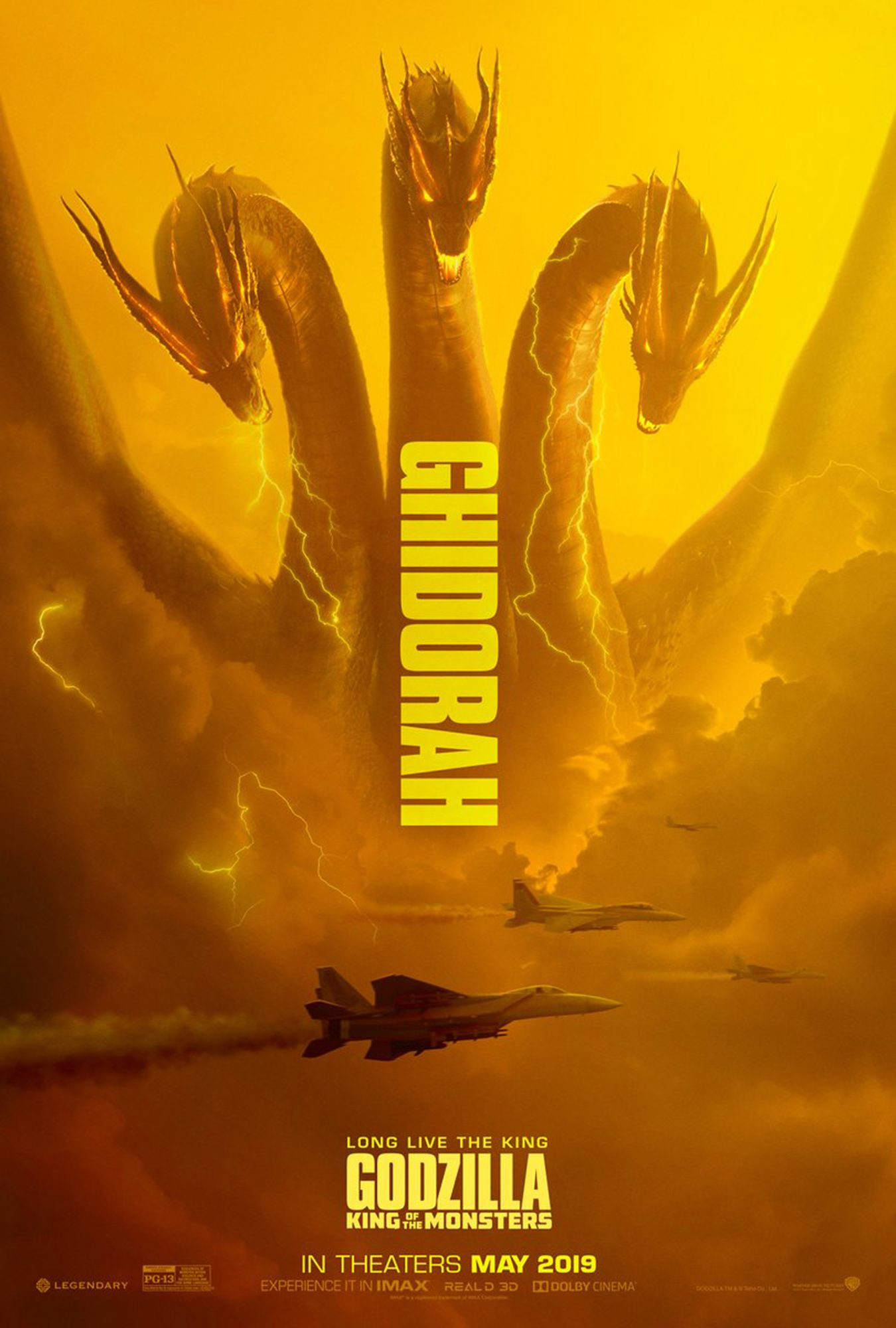 Godzilla: King of the Monsters postersGhidorah