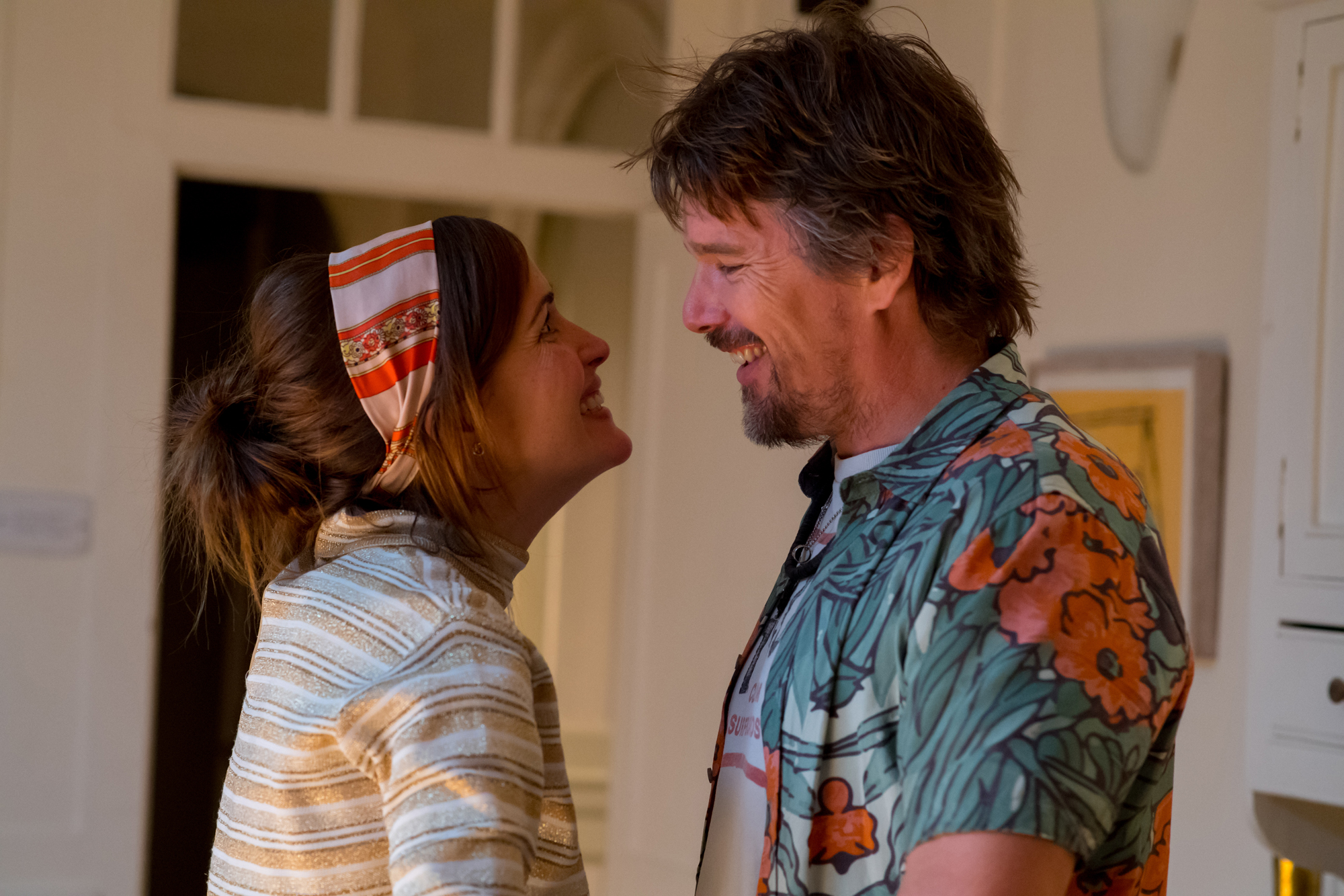 Rose Byrne, and Ethan Hawke in JULIET, NAKED
