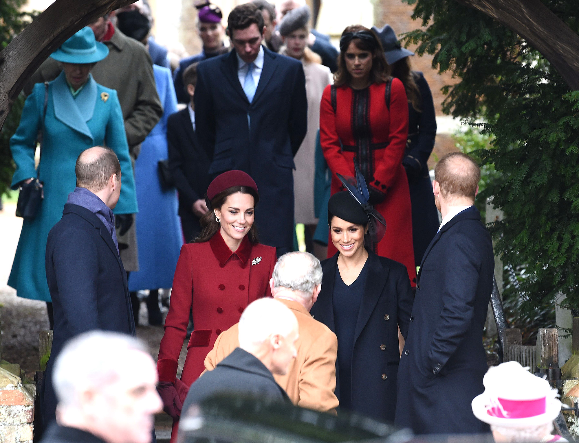 Kate, Duchess of Cambridge, and Meghan, Duchess of Sussex