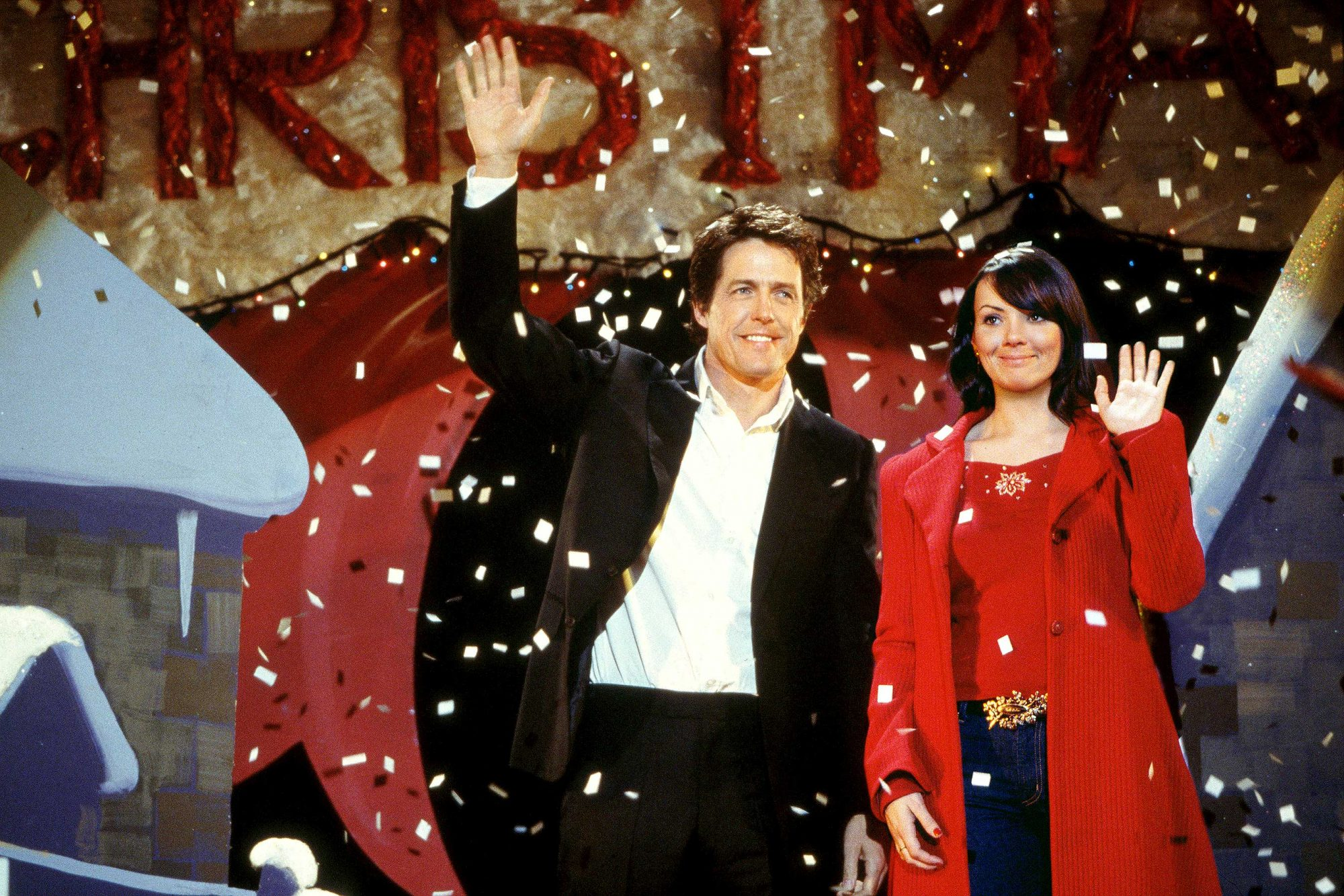 Love Actually (2003)HUGH GRANT and MARTINE McCUTCHEON