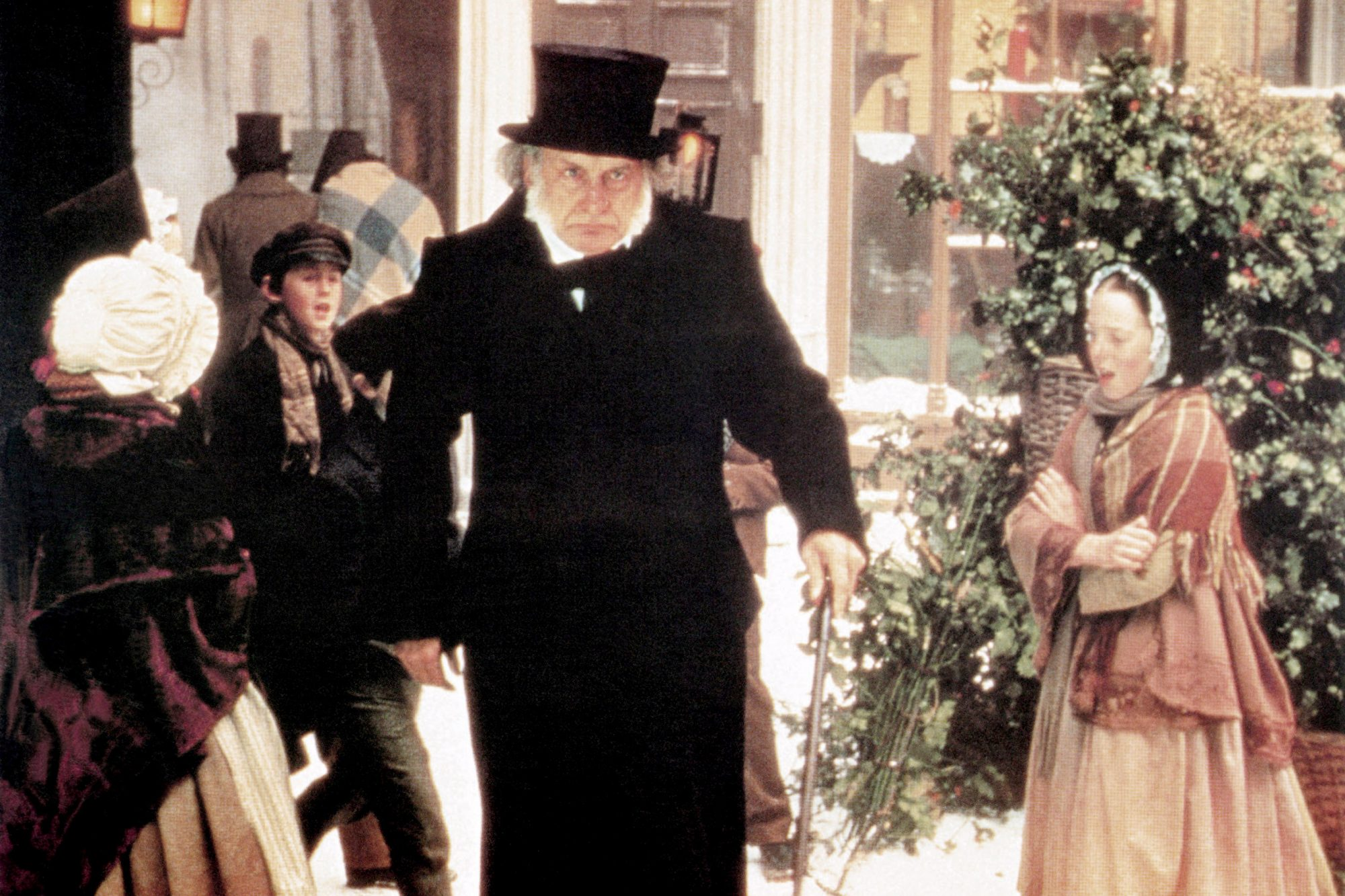 A CHRISTMAS CAROL, George C. Scott, 1984, TM and Copyright ©20th Century Fox Film Corp. All rights r