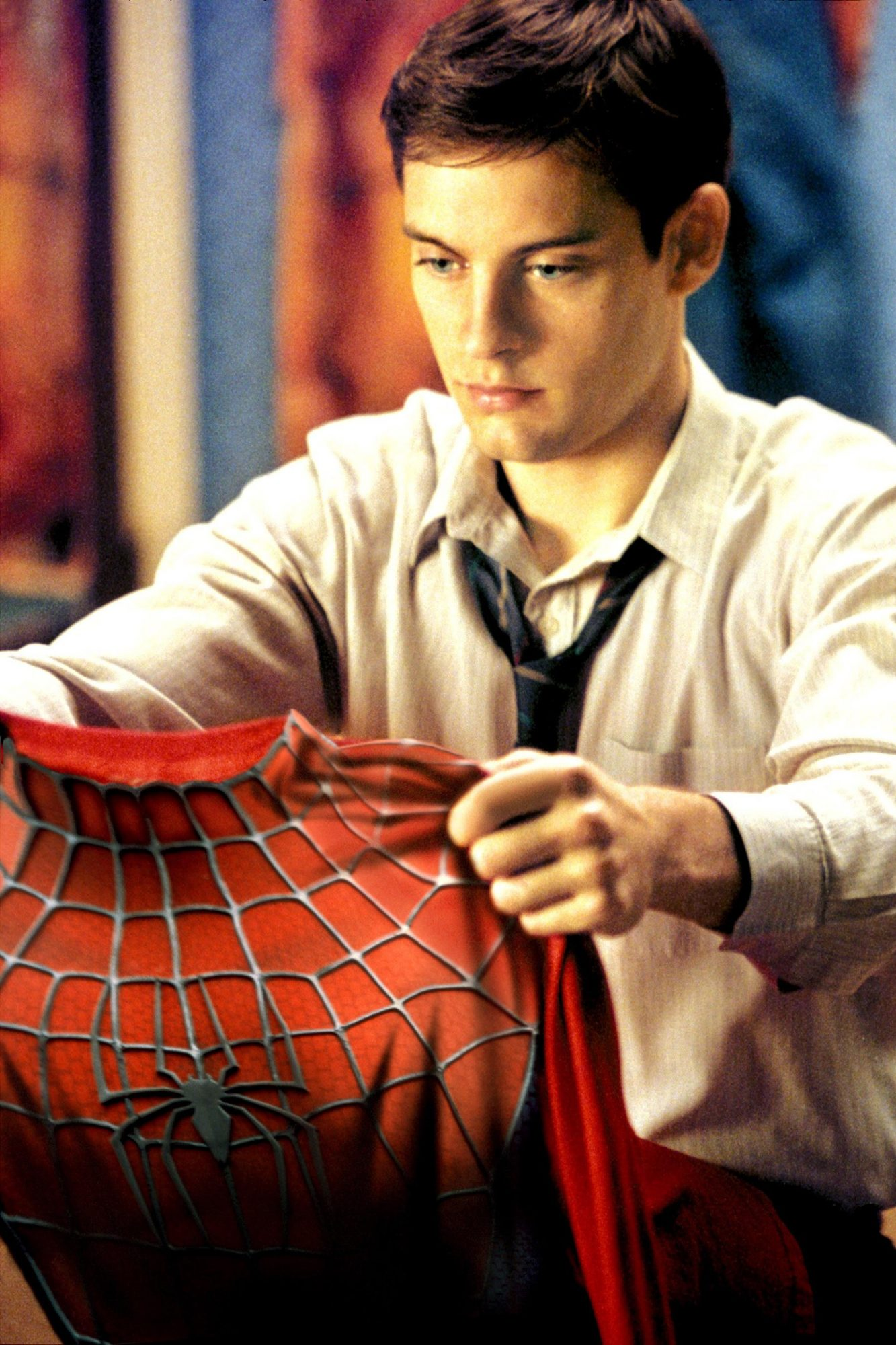 SPIDER-MAN, Tobey Maguire, 2002, (c)Columbia Pictures/courtesy Everett Collection