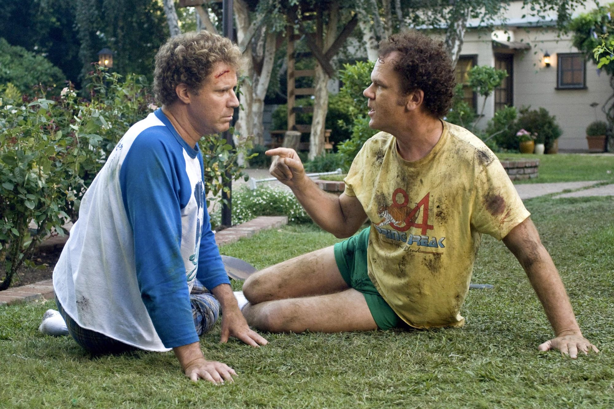 STEP BROTHERS, from left: Will Ferrell, John C. Reilly, 2008, © Columbia/courtesy Everett Collection
