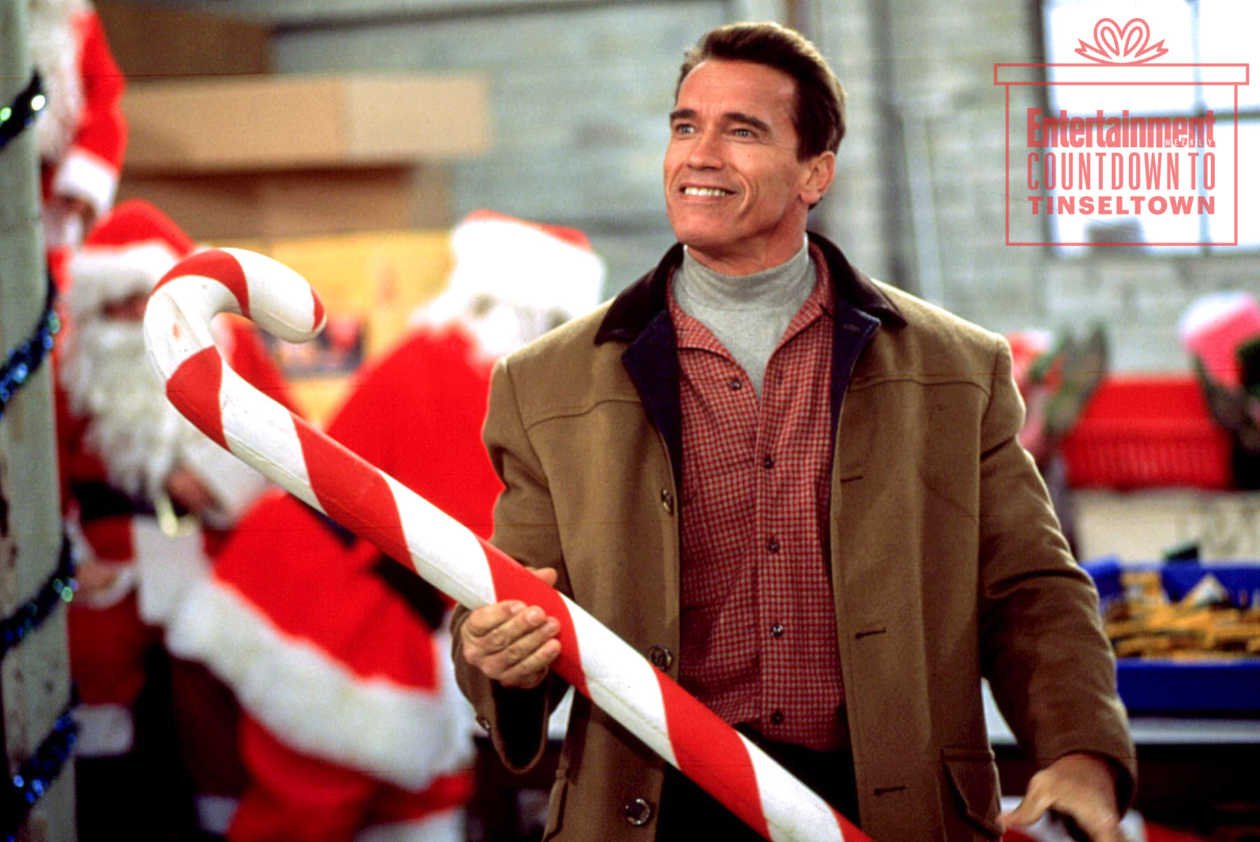 JINGLE ALL THE WAY, Arnold Schwarzenegger, 1996, TM & Copyright (c) 20th Century Fox Film Corp. All