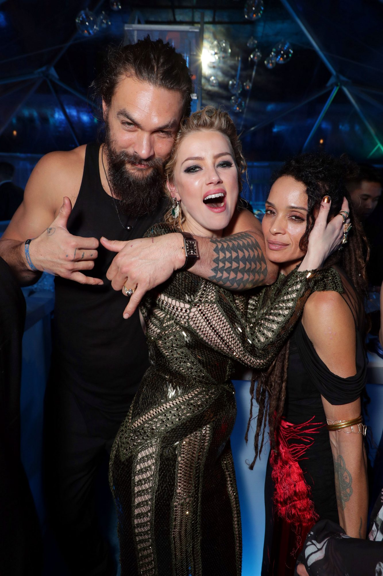 Warner Bros. Pictures World Premiere of AQUAMAN at the TCL Chinese Theatre, Los Angeles, CA, USA - 12 December 2018