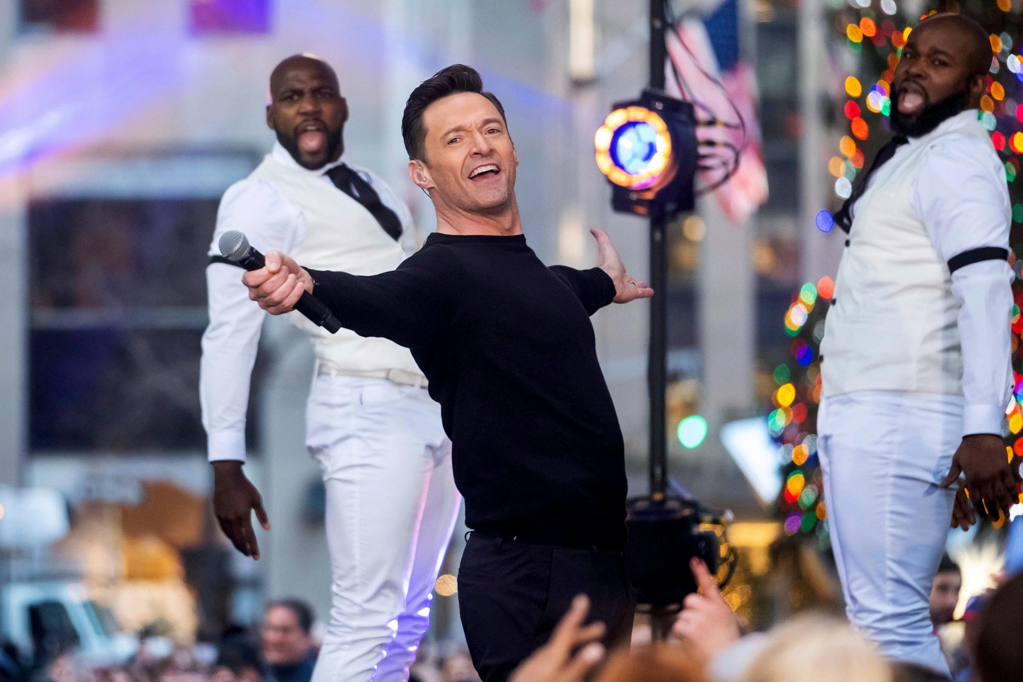 Hugh Jackman Performs on NBC's Today Show, New York, USA - 04 Dec 2018