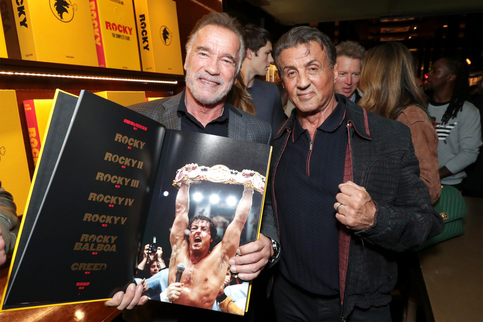 Launch of 'Rocky. The Complete Films' at TASCHEN Beverly Hills, Beverly Hills, USA - 11 December 2018