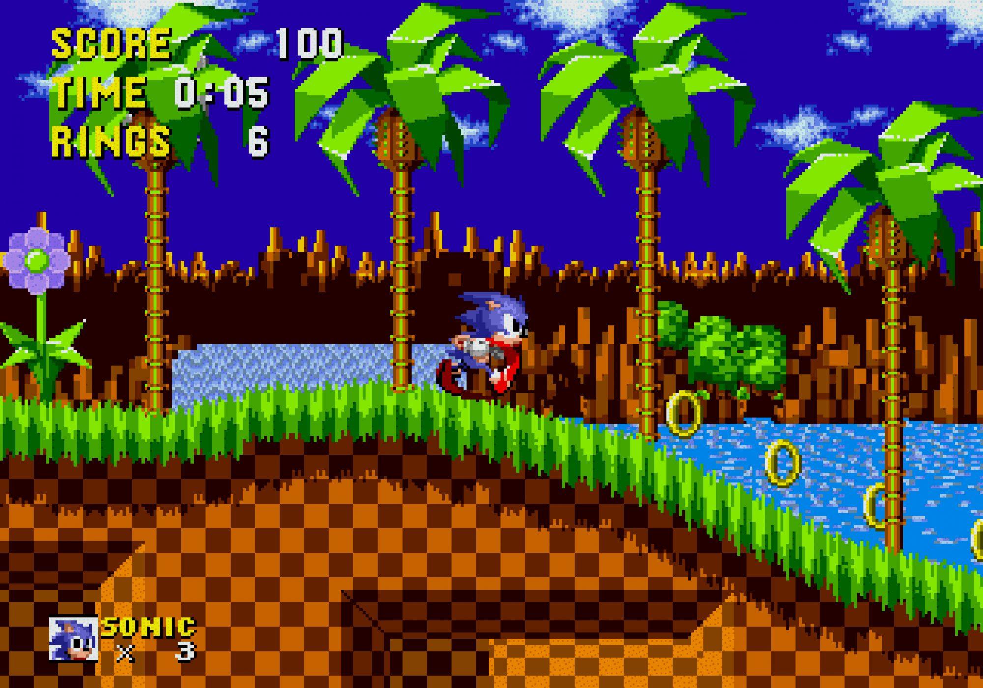 Sonic Sega GenesisCredit: Sega