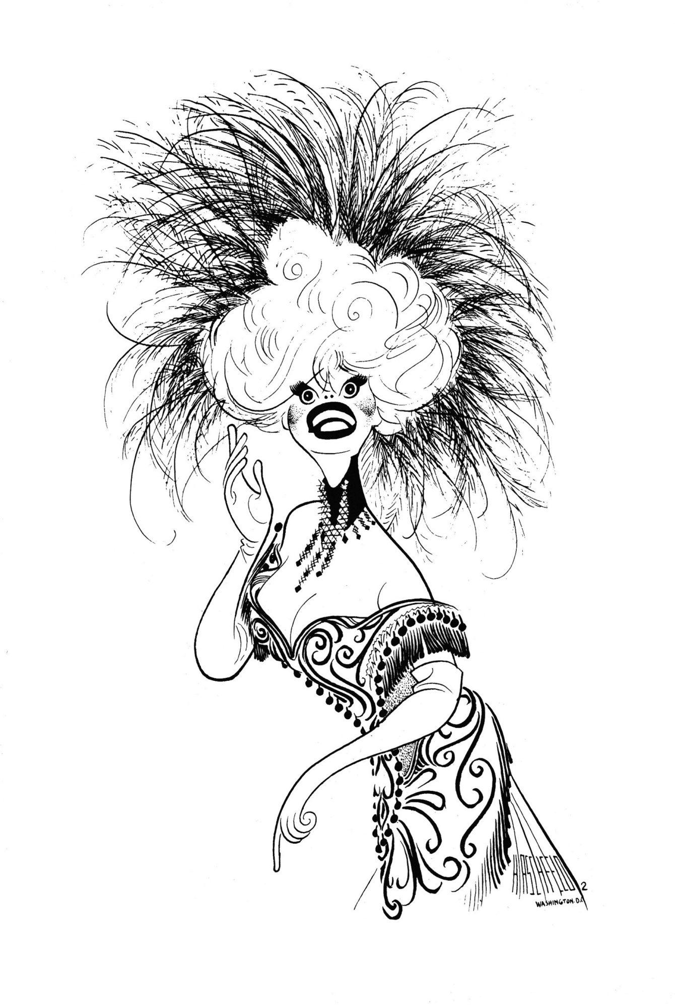 148.jpg – Carol Channing in Hello, Dolly!, 1964