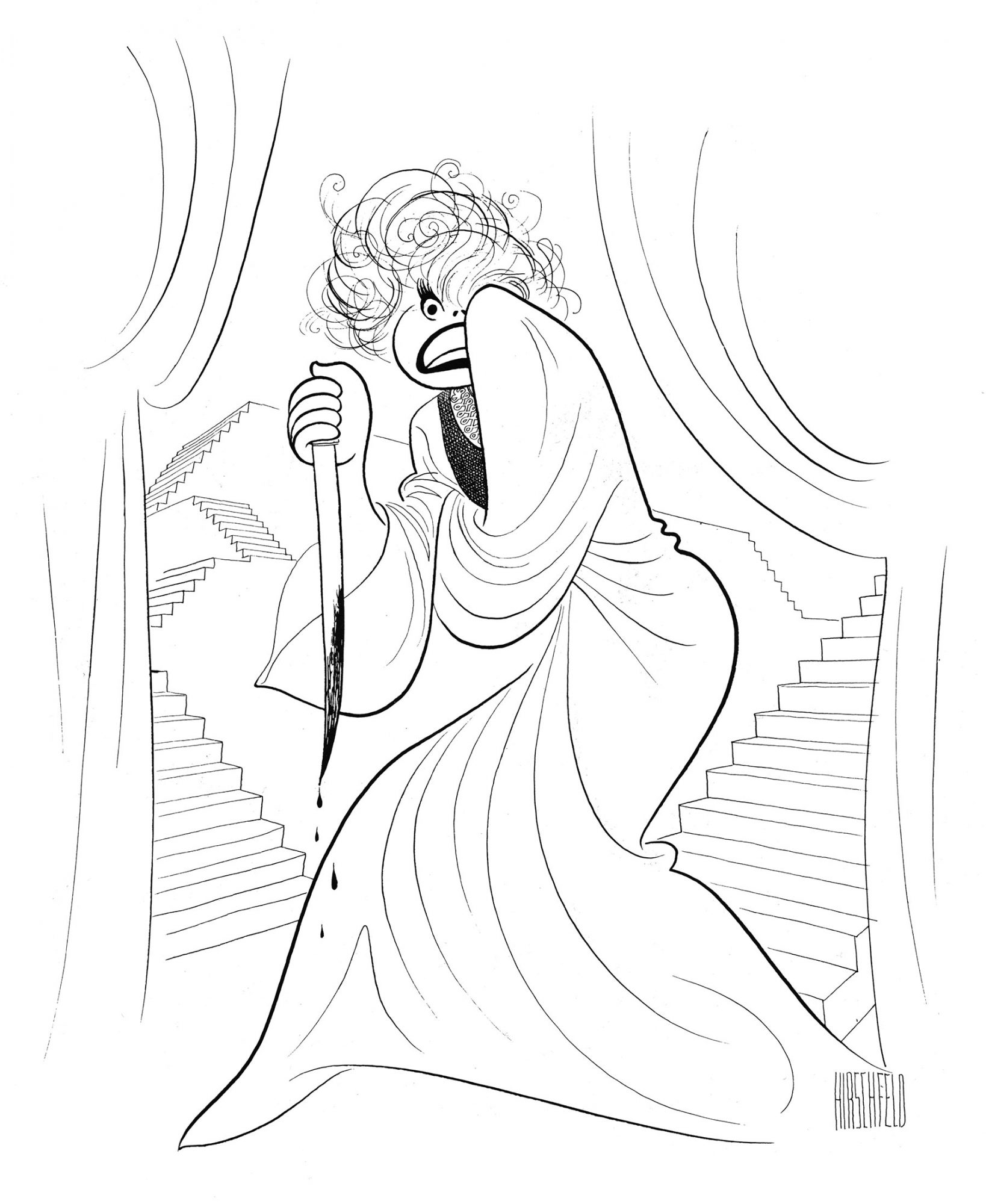 149.jpg – Carol Channing as Lady Macbeth, Unlikely Casting, 1964