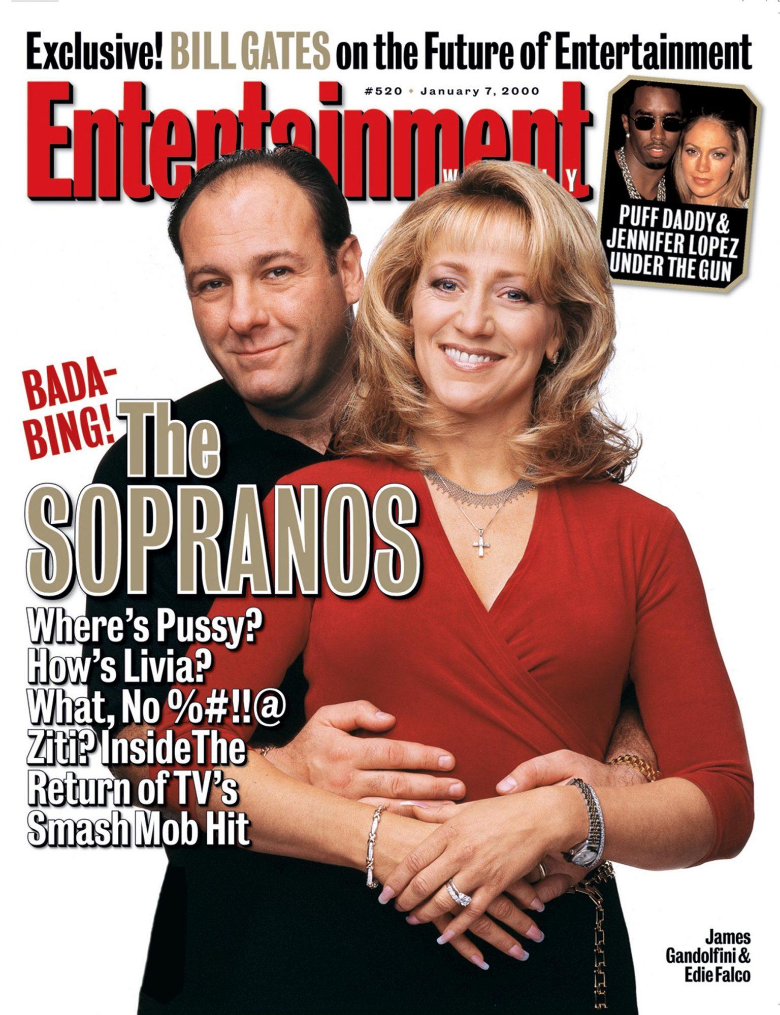 Entertainment WeeklyThe SopranosJames GandolfiniJanuary 7, 2000# 520