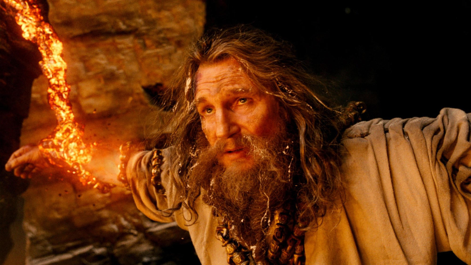 WRATH OF THE TITANS, Liam Neeson, 2012. ©Warner Bros. Pictures./Courtesy Everett Collection