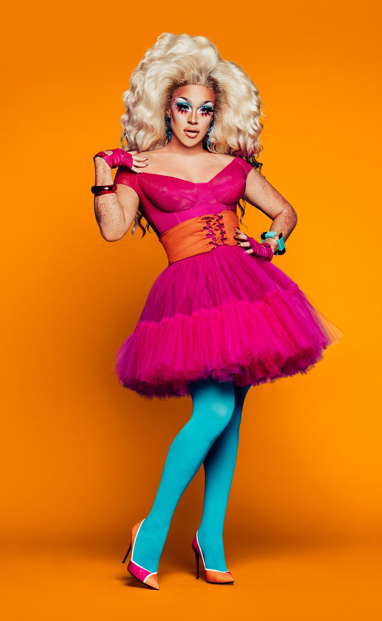 RuPaul Drag Race Season 11 cast photo -- Pictured: Ariel VersaceCR: VH1