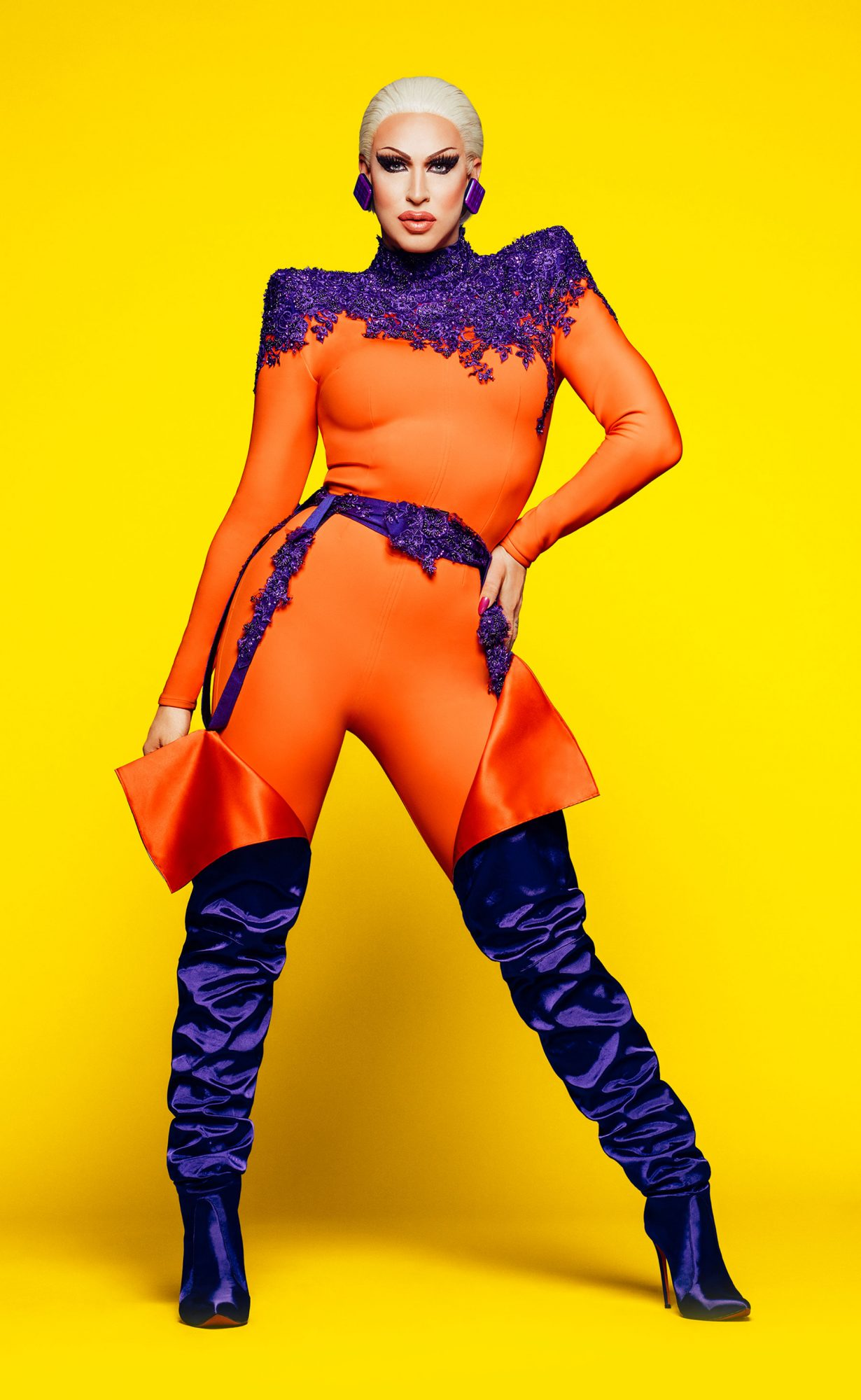 RuPaul Drag Race Season 11 cast photo -- Pictured: Brooke Lynn HytesCR: VH1