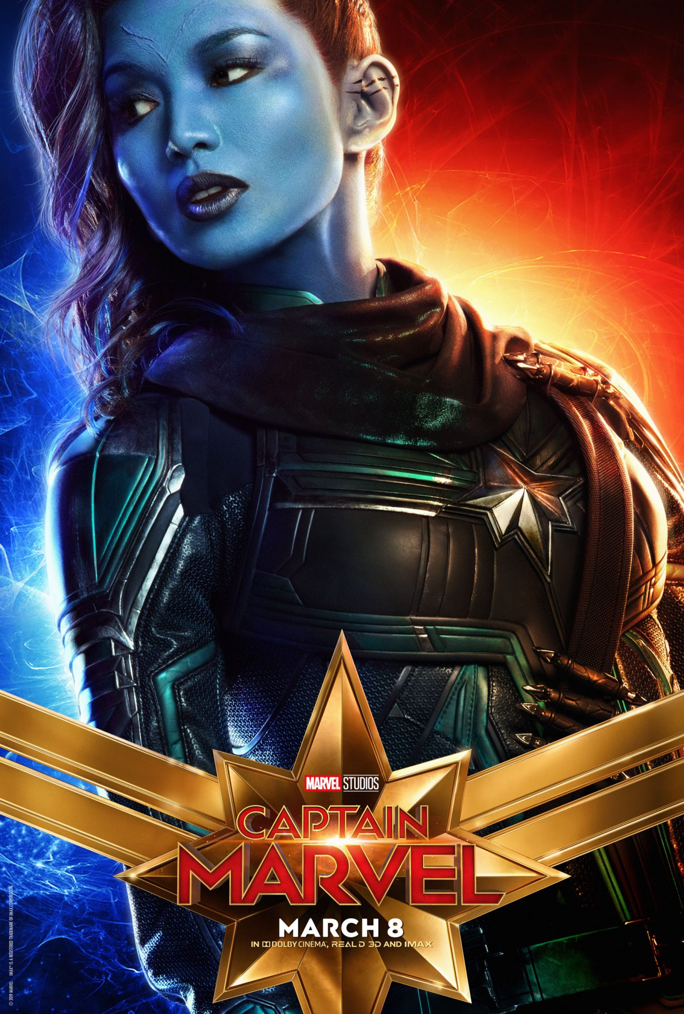 Captain Marvel (2019) posterCR: Marvel Studios