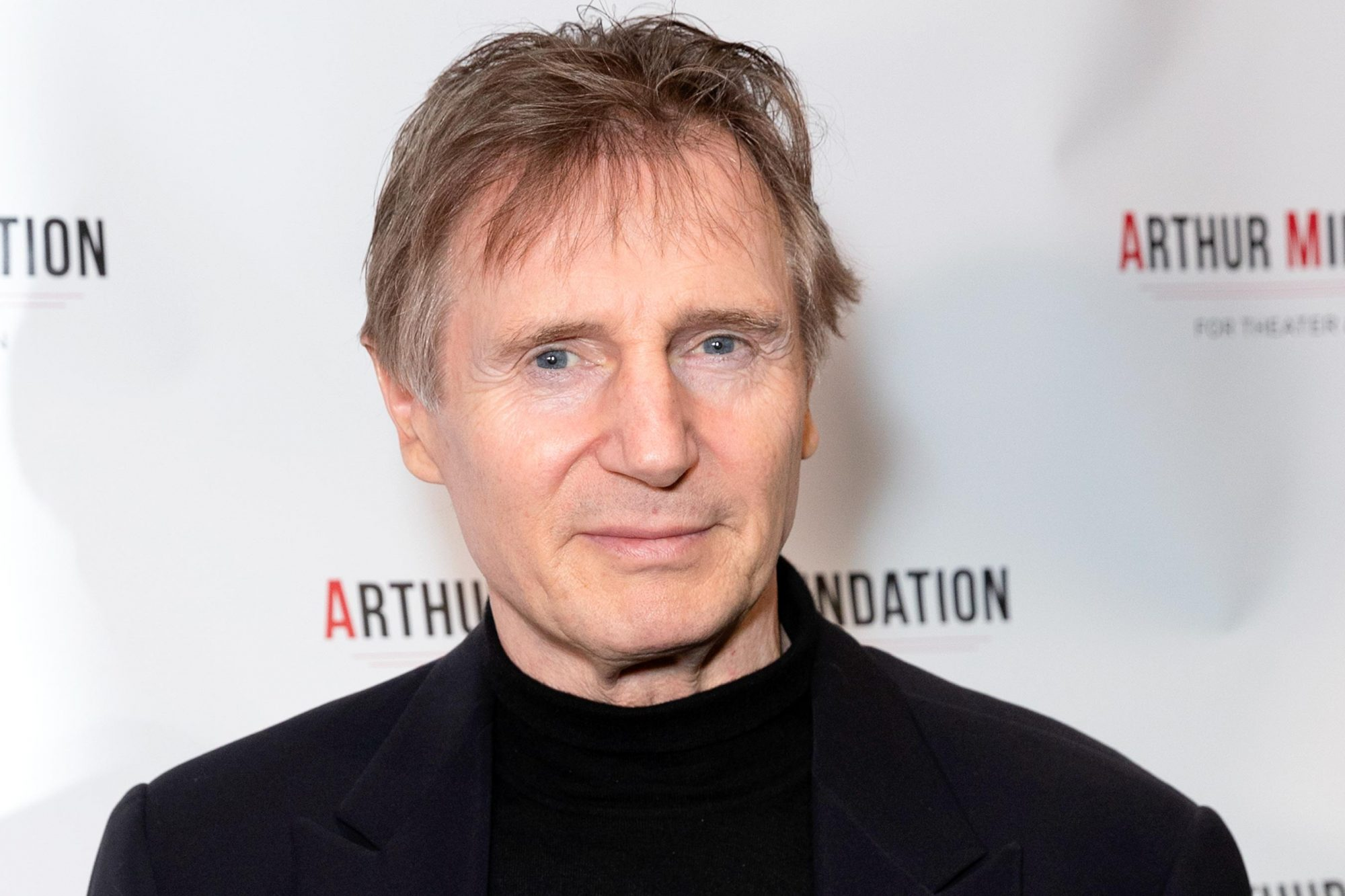 Liam Neeson attends 2018 Arthur Miller Foundation Honors
