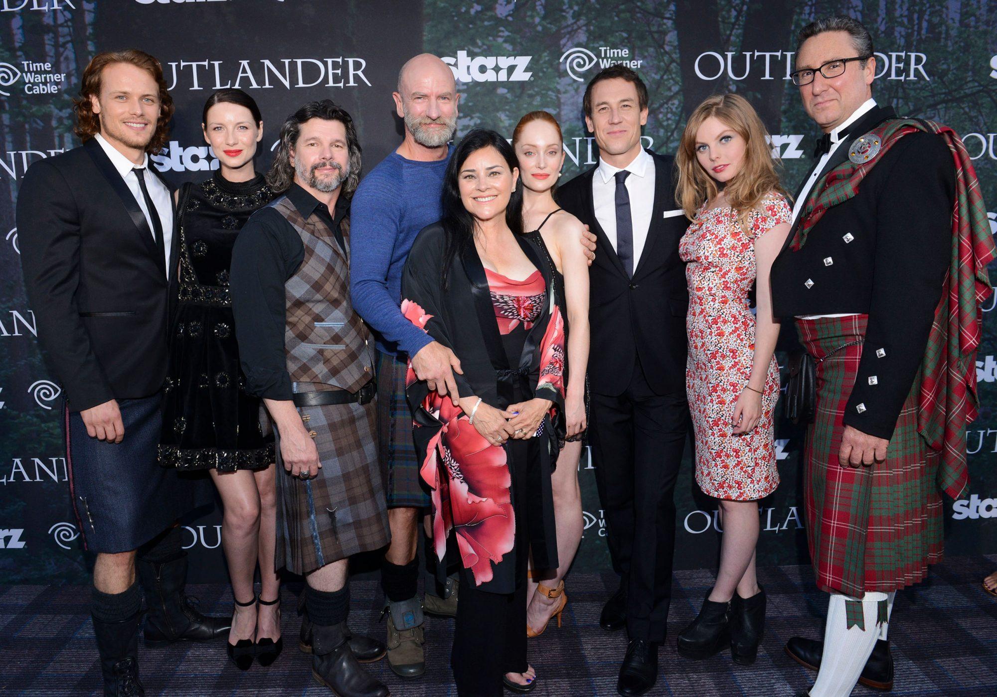 "Starz Series ""Outlander"" Premiere - Comic-Con International 2014"