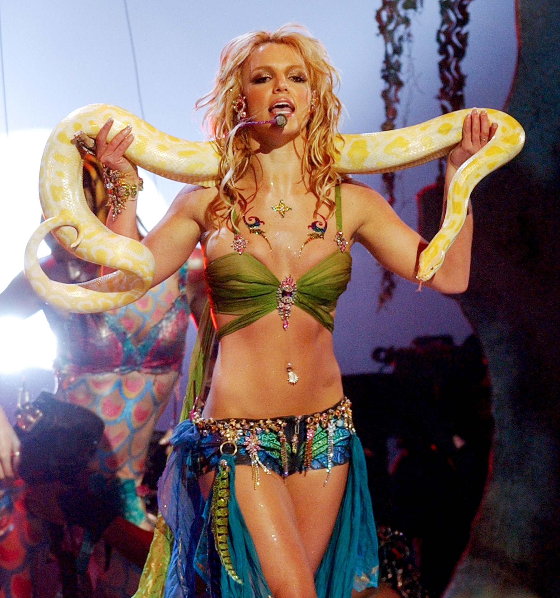 Image result for Britney Spears Slave 4 U performance