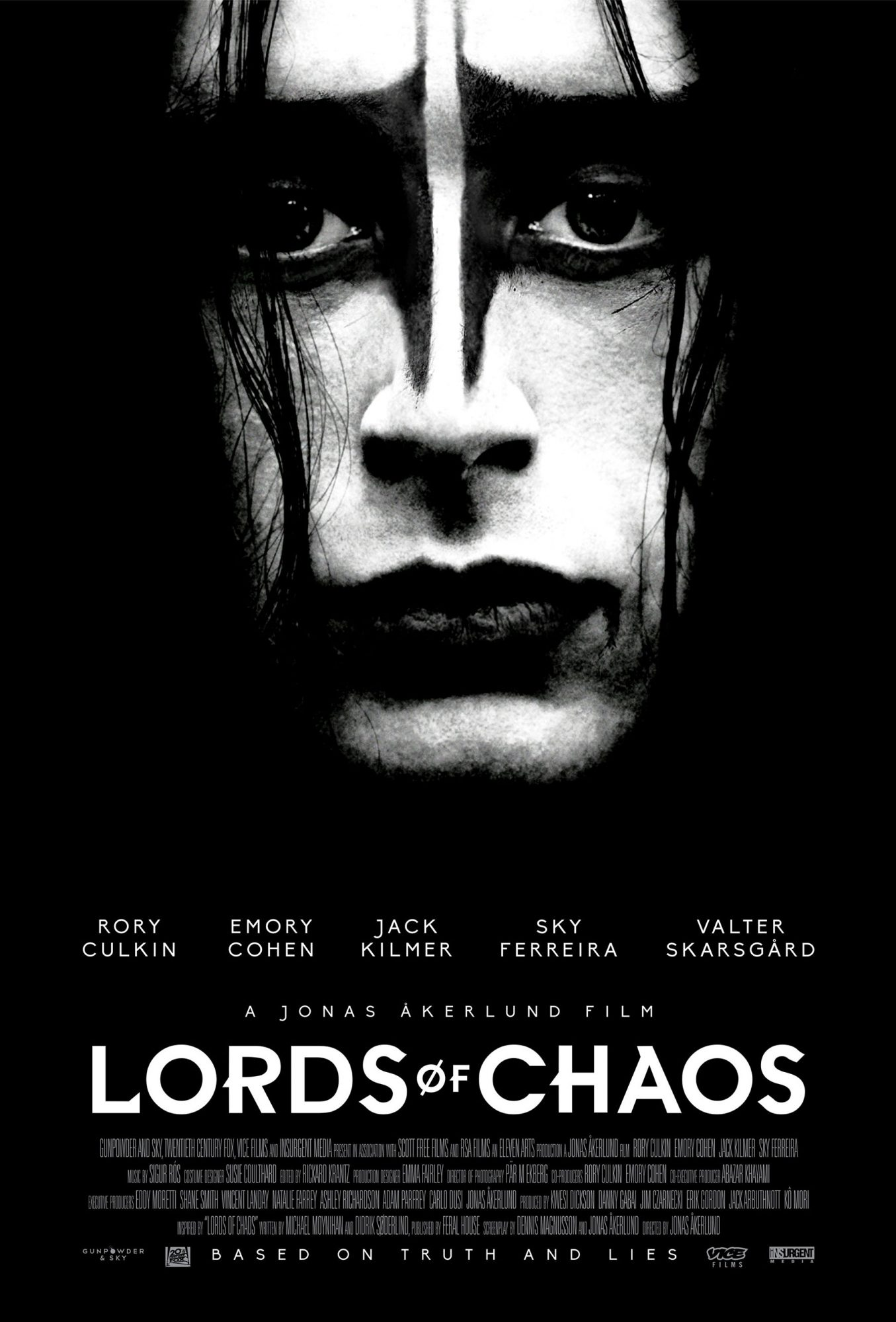 Lords of Chaos (2019) movie posterRory CulkinCR: 20th Century Fox