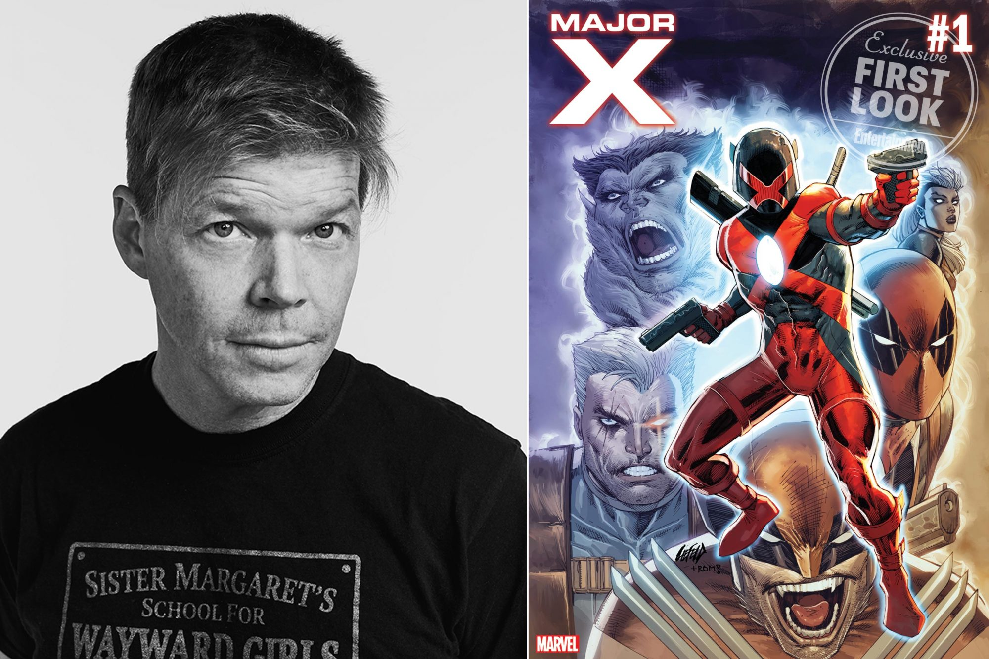 Exclusive: Rob Liefeld to write and draw new Marvel series 'Major X'
