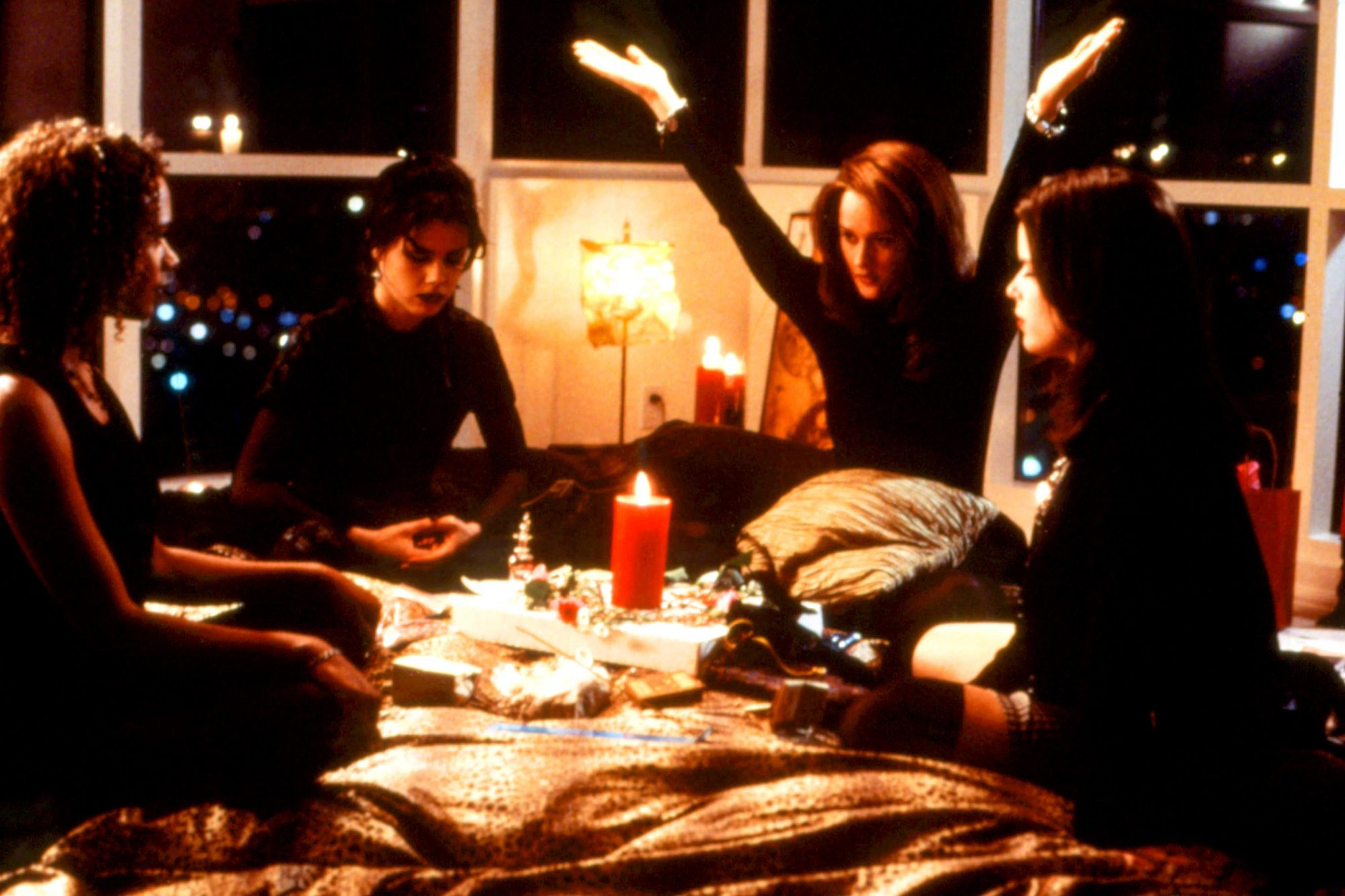 THE CRAFT, Rachel True, Fairuza Balk, Robin Tunney, Neve Campbell, 1996, (c)Columbia Pictures/courte
