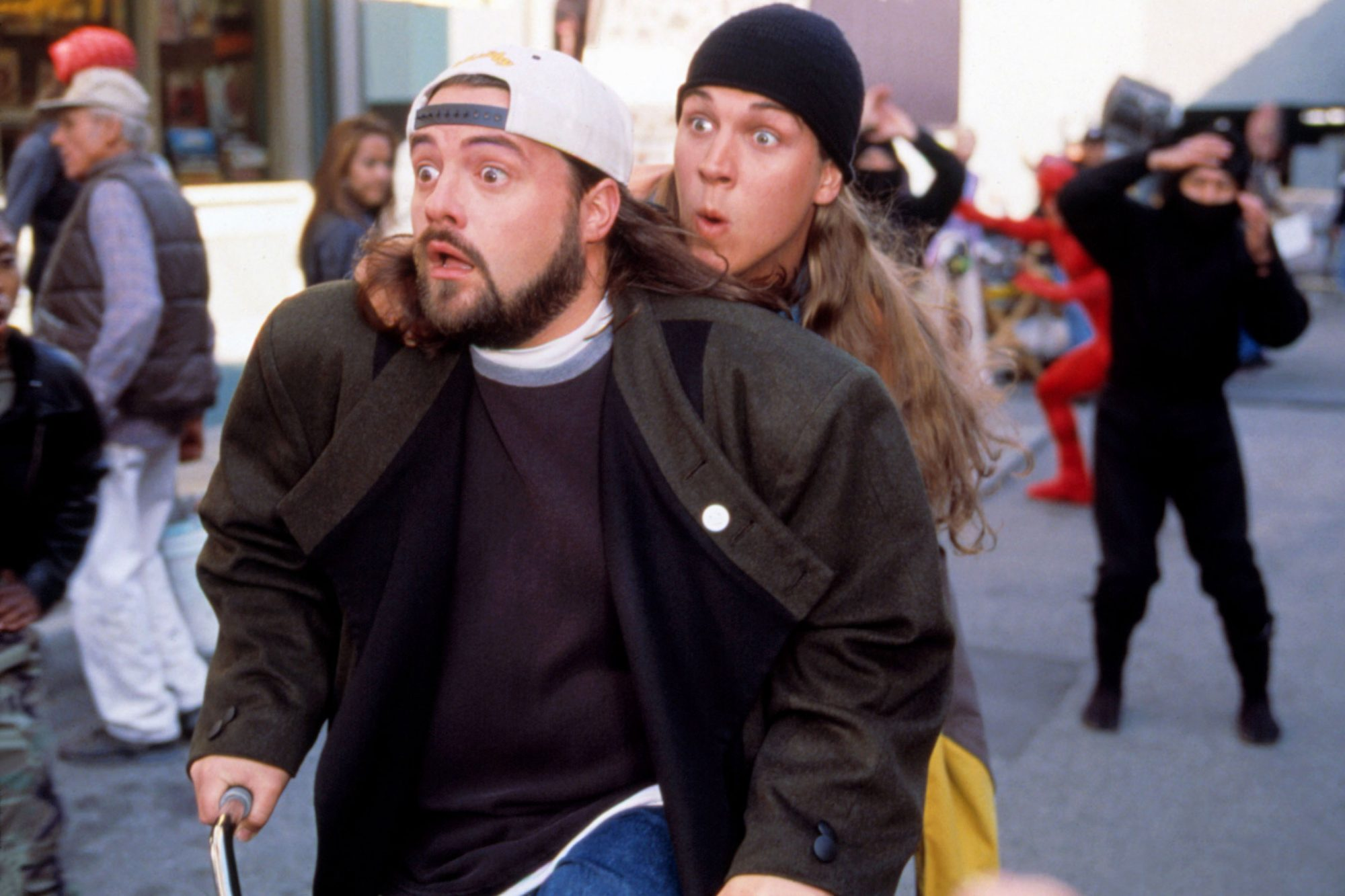 JAY AND SILENT BOB STRIKE BACK, Kevin Smith, Jason Mewes, 2001