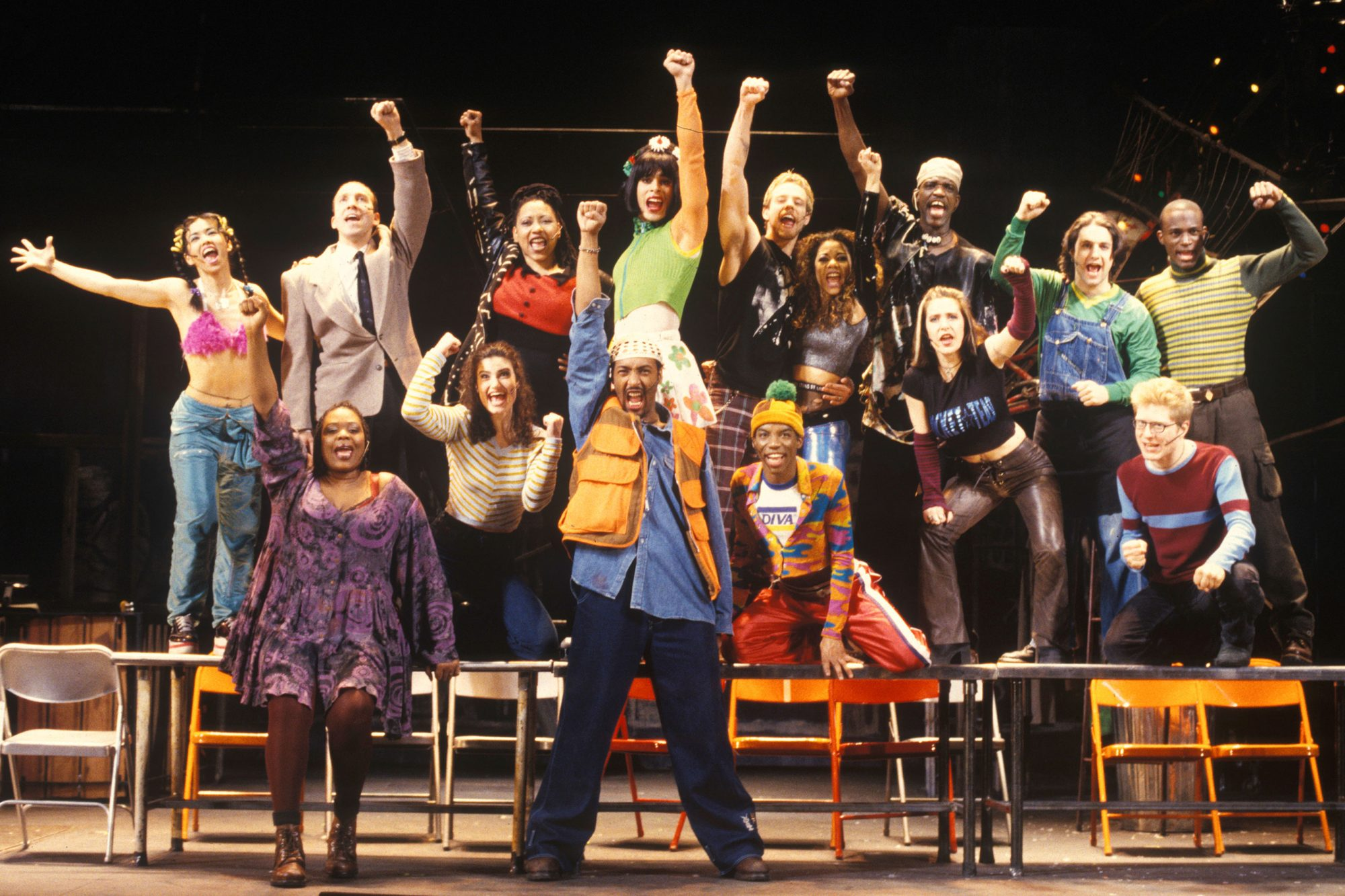 Rent(original cast, on broadway)
