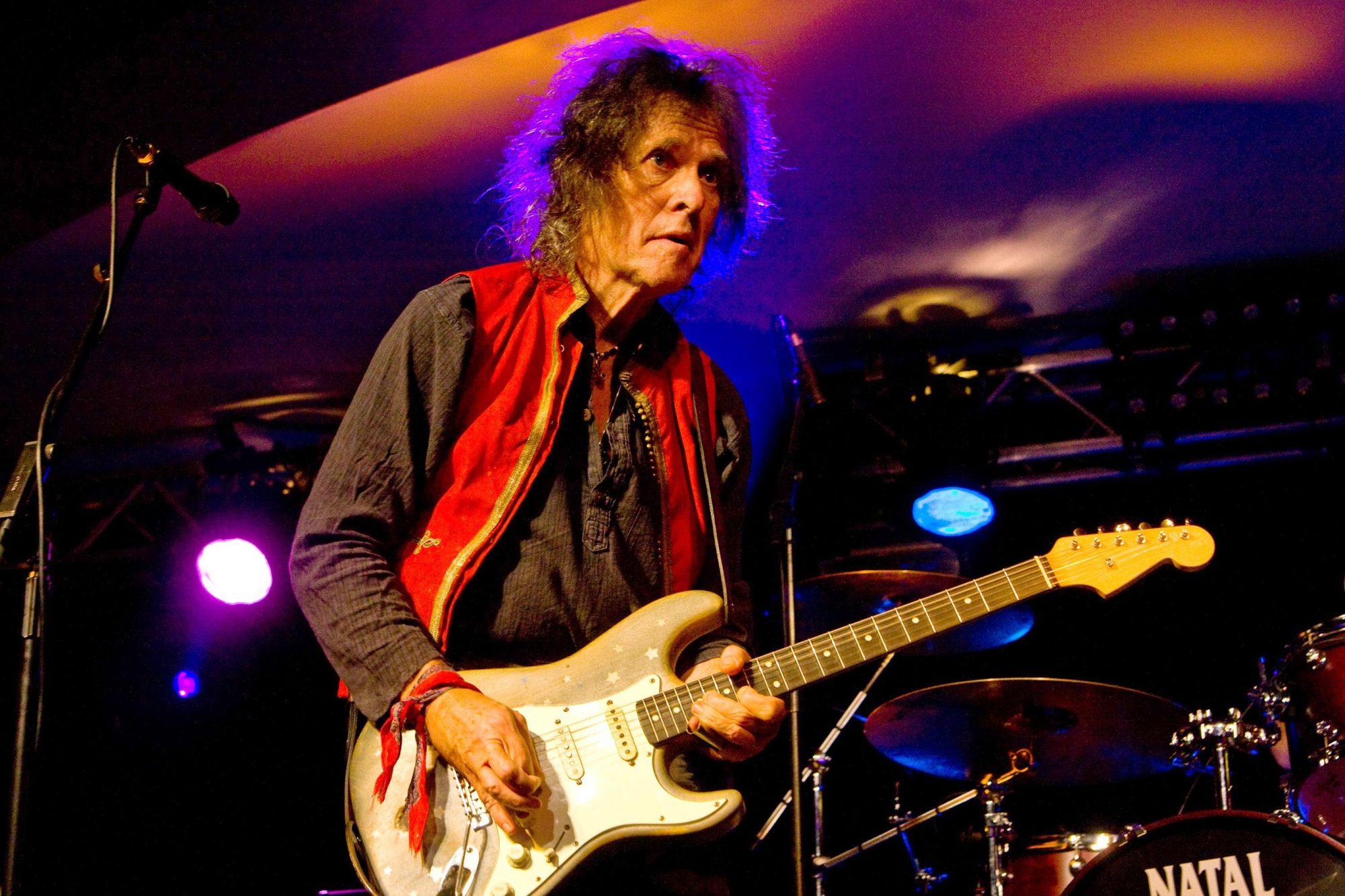 Bernie Torme in concert at Hard Rock Hell, Wales, Britain - 28 Nov 2013