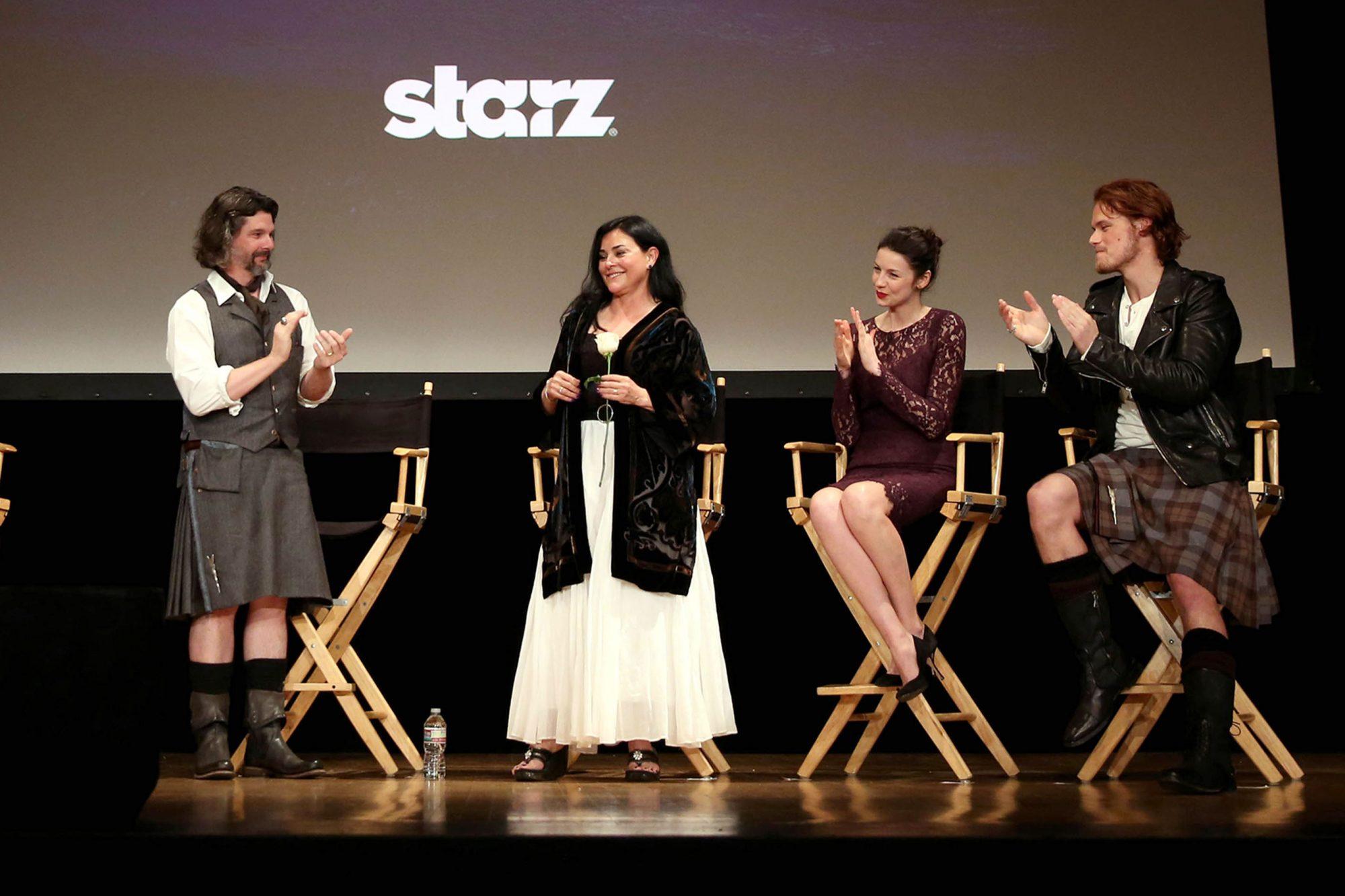 STARZ Outlander Fan Event, Los Angeles, USA - 11 Jan 2014