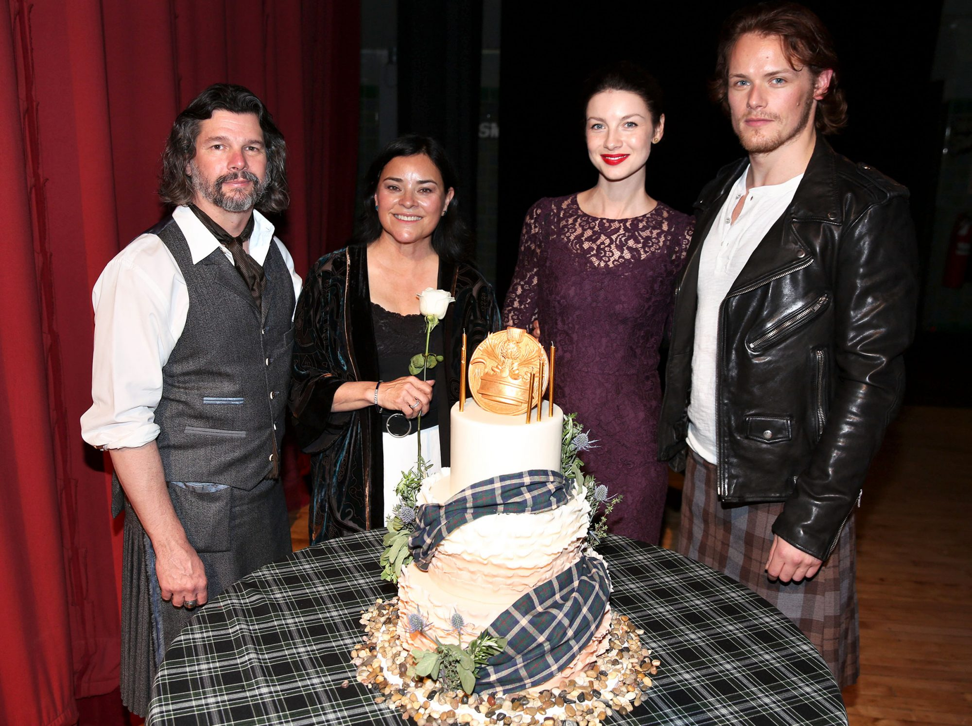 STARZ Outlander Fan Event, Los Angeles, USA - 11 Jan 2014