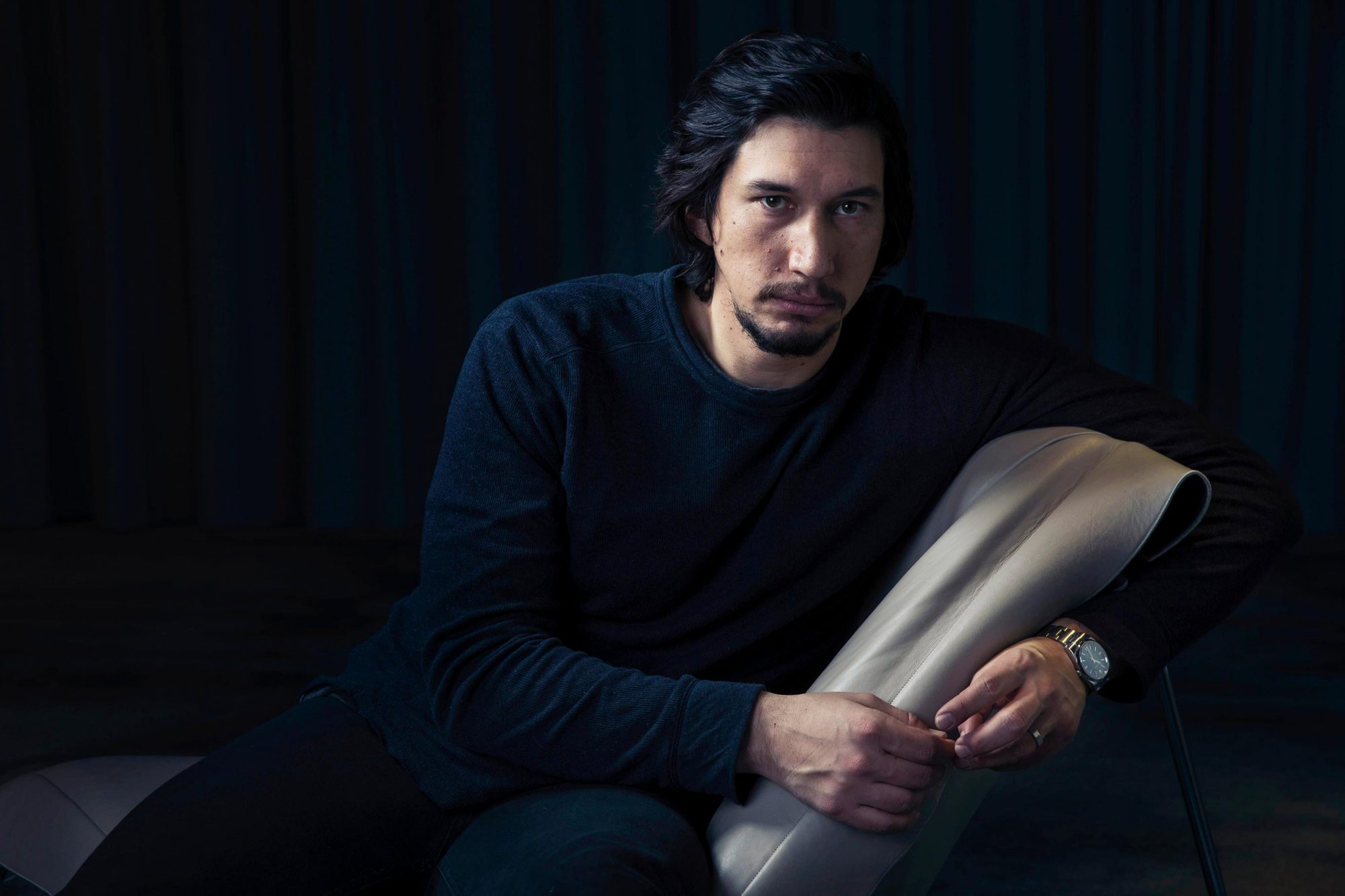 Adam Driver Portrait Session, New York, USA - 14 Dec 2016