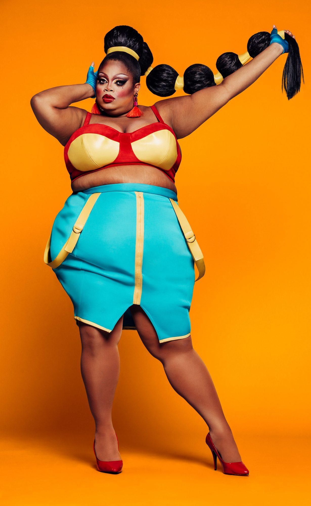 RuPaul Drag Race Season 11 cast photo -- Pictured: Silky Nutmeg GanacheCR: VH1