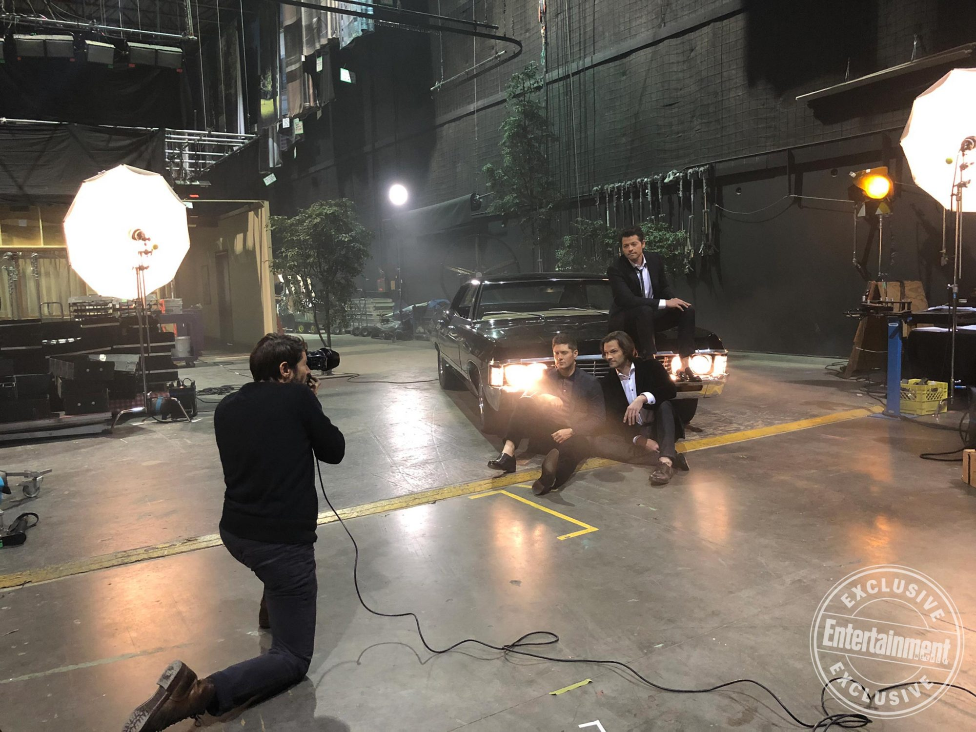 Behind the scenes with the stars of Supernatural