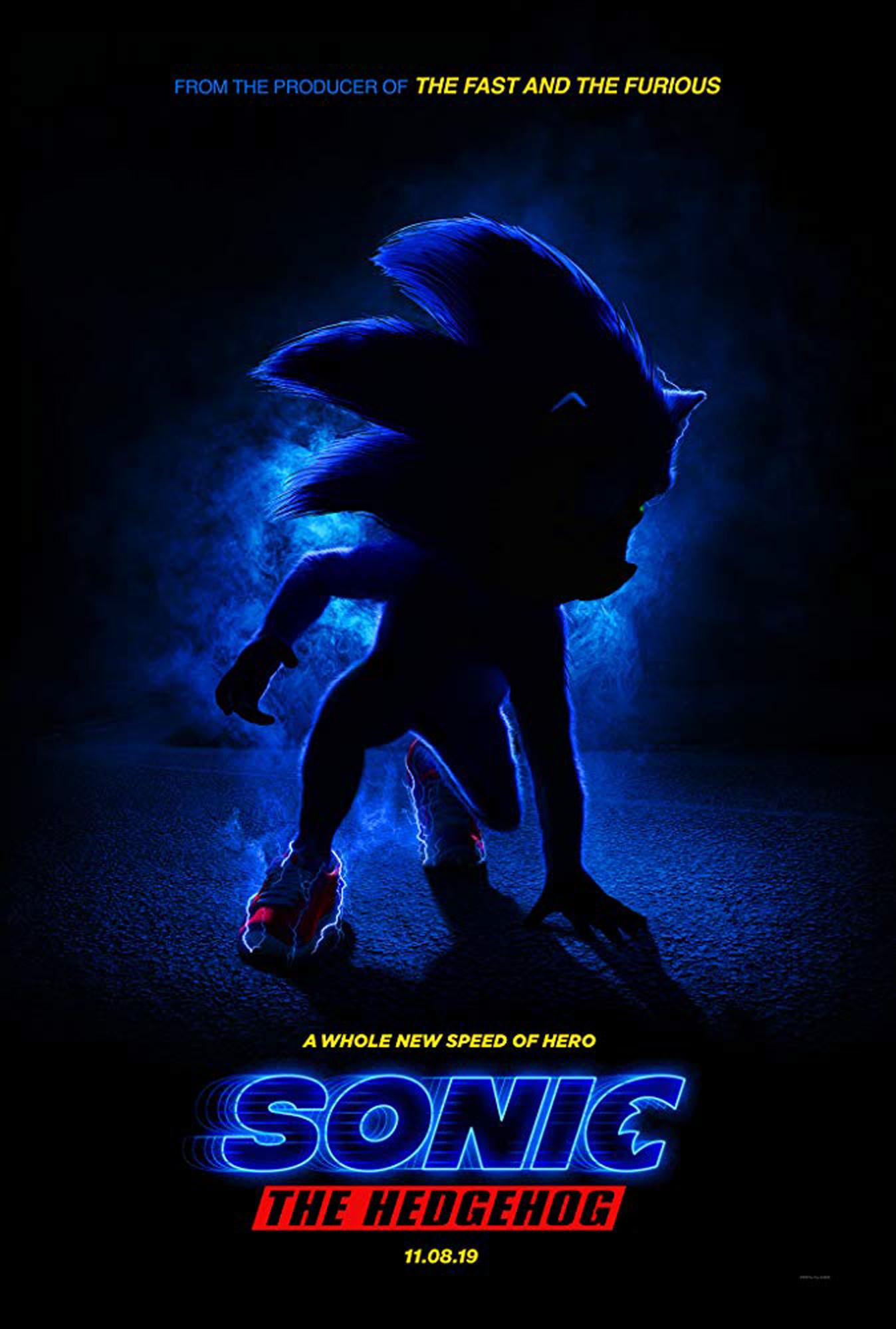 Ben Schwartz in Sonic the Hedgehog (2019)Paramount Pictures