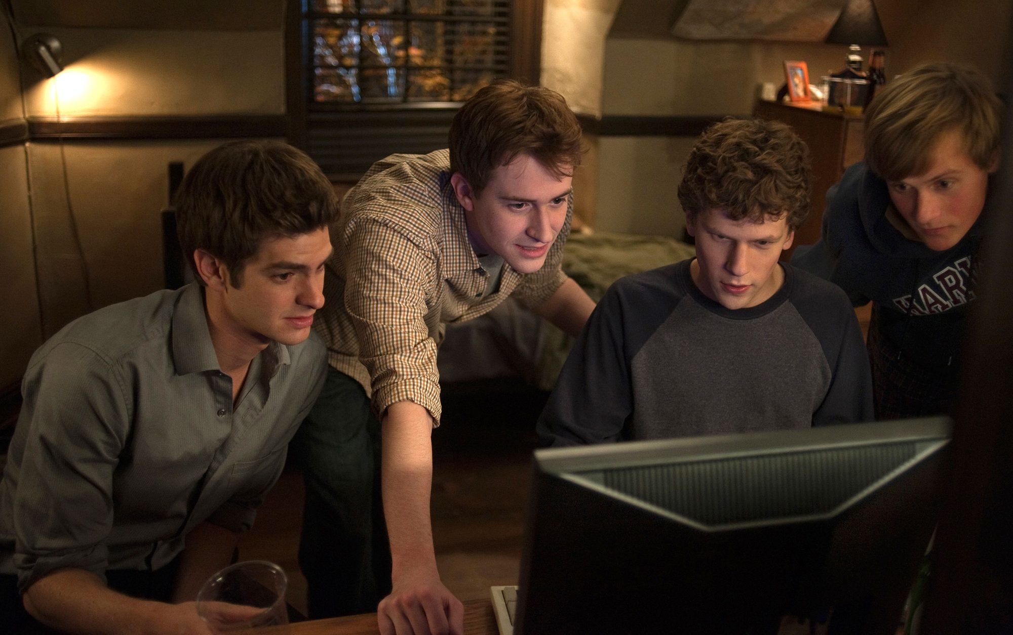 The Social Network, then and now