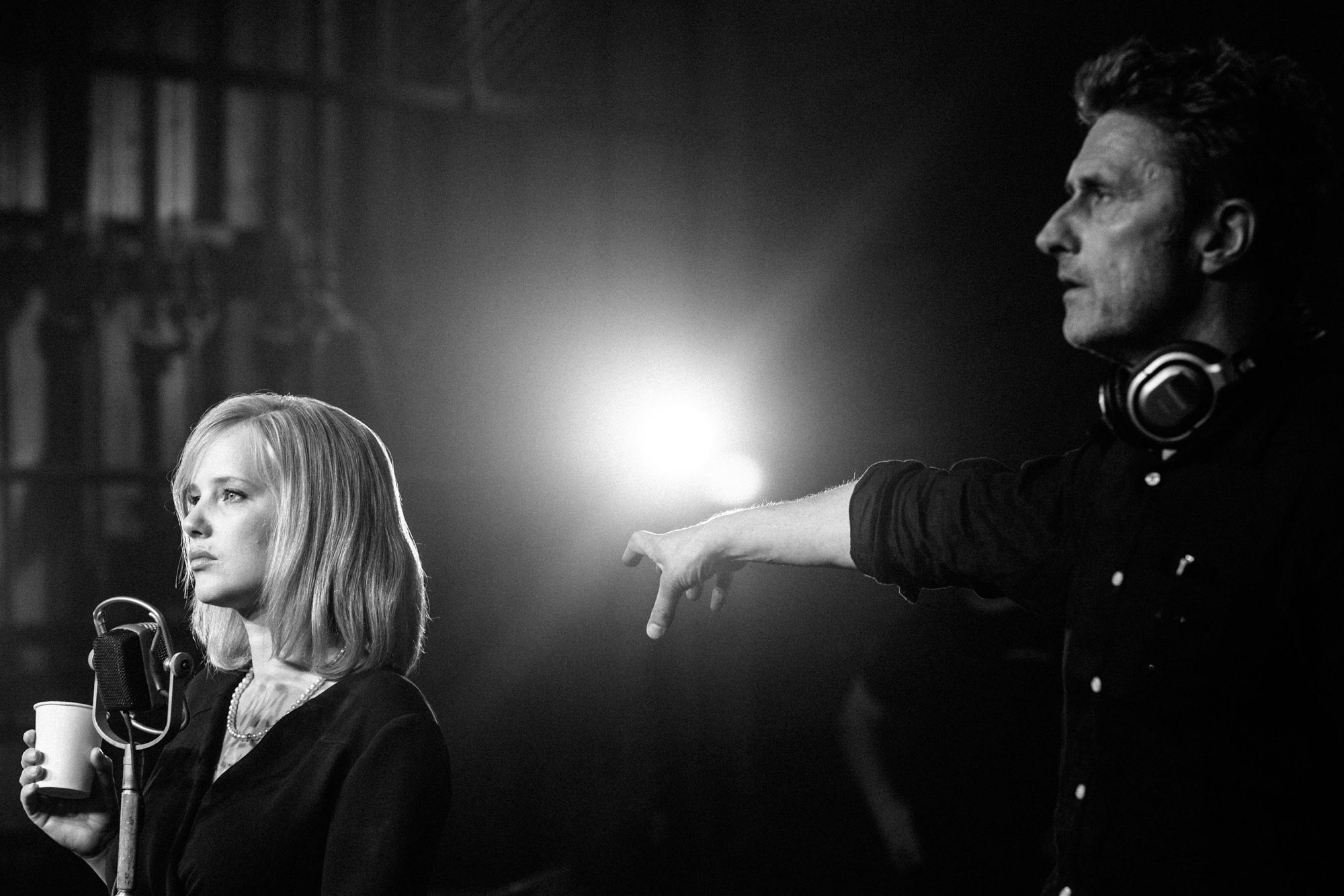 Cold WarJoanna Kulig and Director Pawel Pawlikowski on set