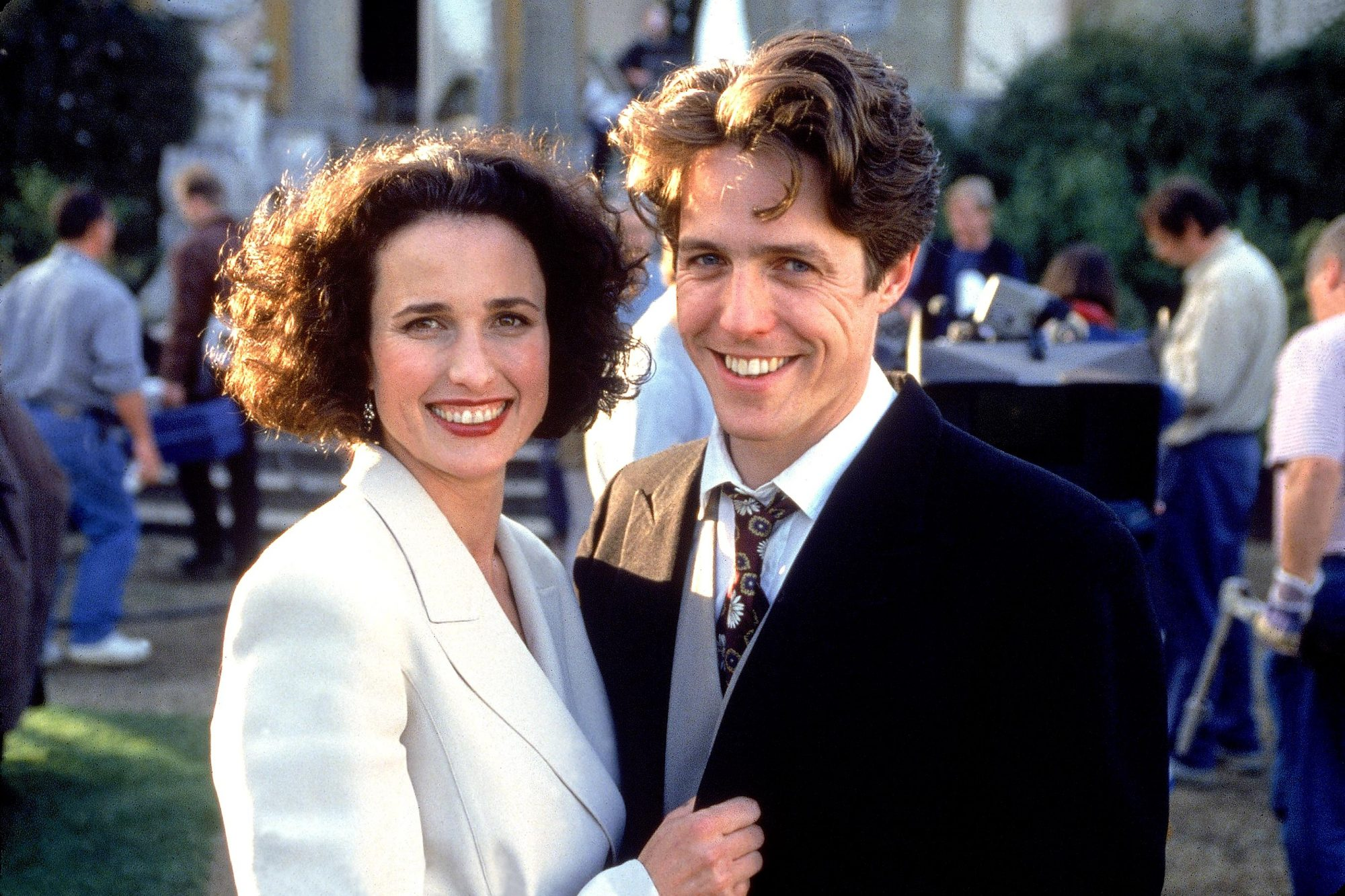 Four Weddings and a Funeral (1994)Andie MacDowell and Hugh Grant