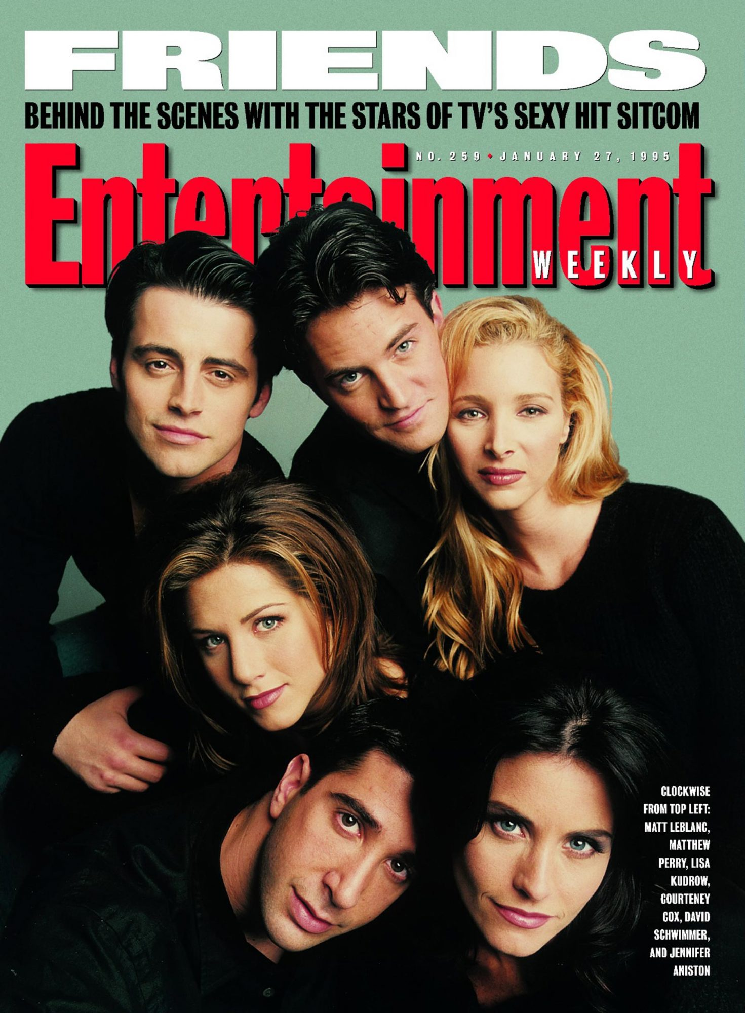 Entertainment Weekly coverIssue# 259 - 1/27/1995Friends