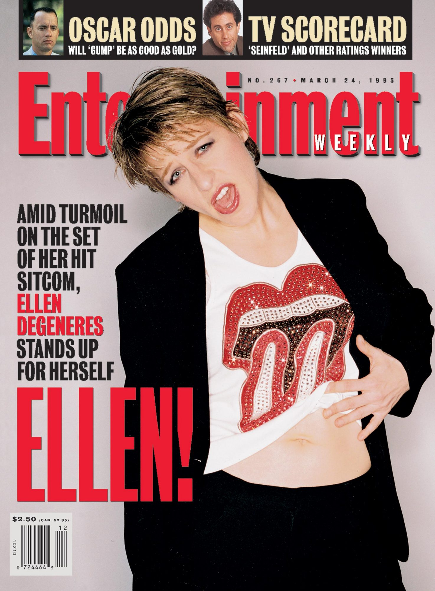 Entertainment WeeklyEllen DegeneresMarch 24, 1995# 267