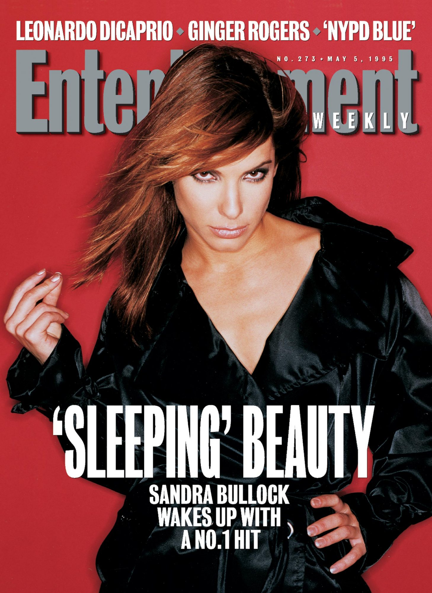 Entertainment WeeklySandra BullockMay 5, 1995Issue #273