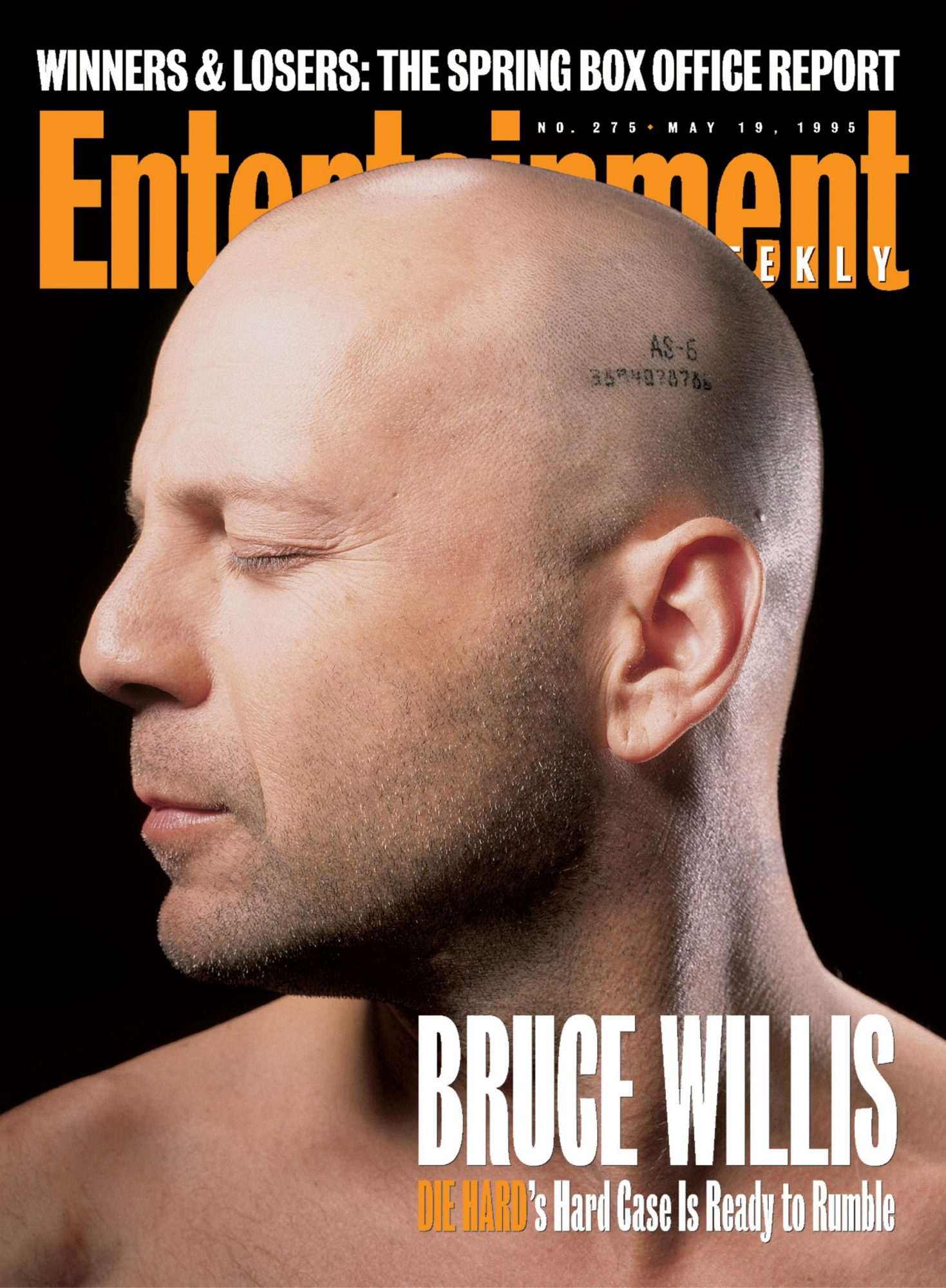 Entertainment WeeklyBruce WillisDie Hard with a VengeanceMay 19, 1995#275