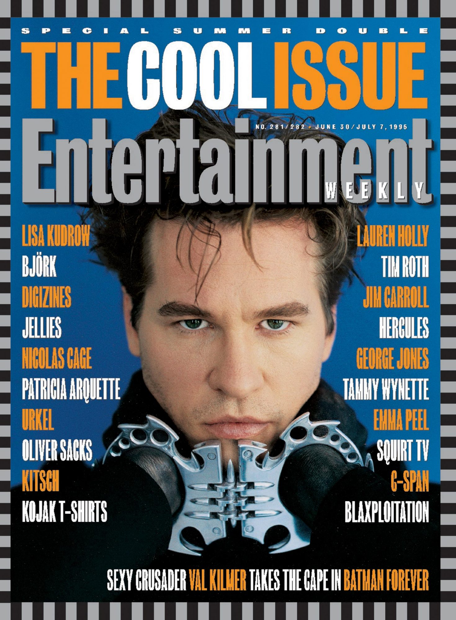 Entertainment WeeklyJune 30, 1995# 281 / 282