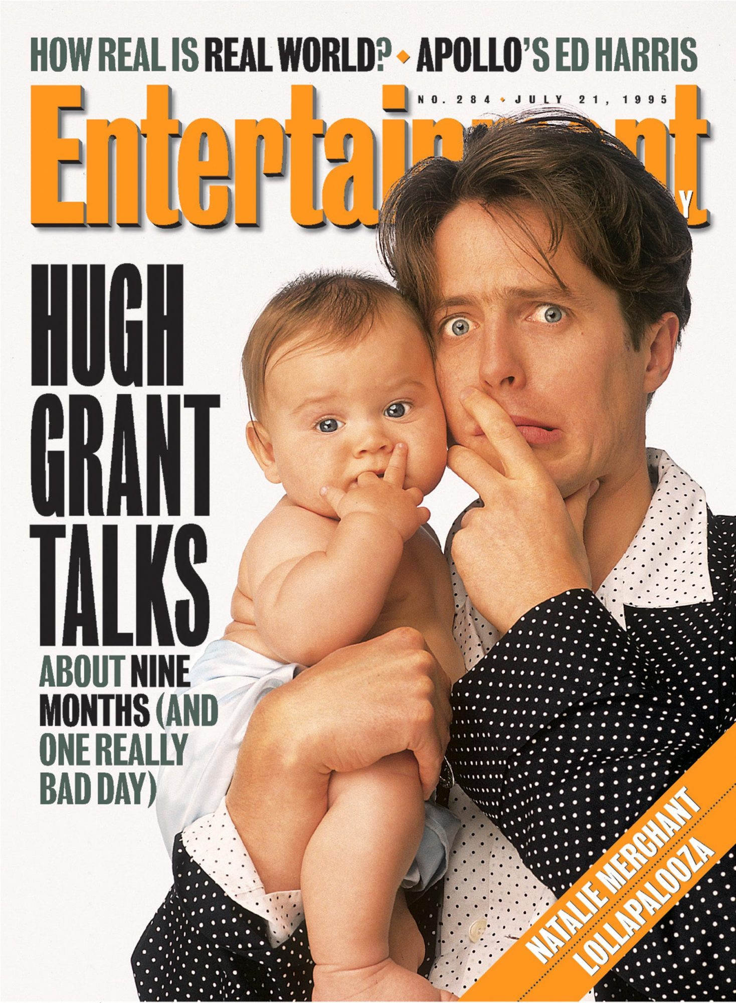 Entertainment WeeklyHugh GrantJuly 21, 1995# 284