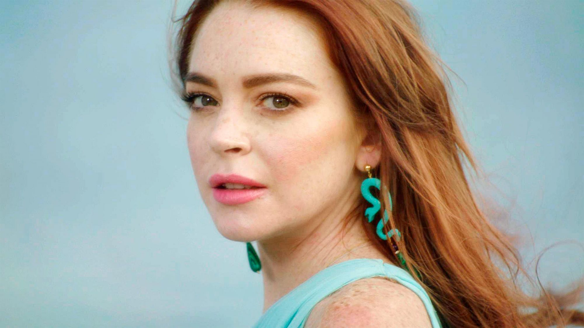 Lindsay Lohan Beach ClubPictured: Lindsay Lohan