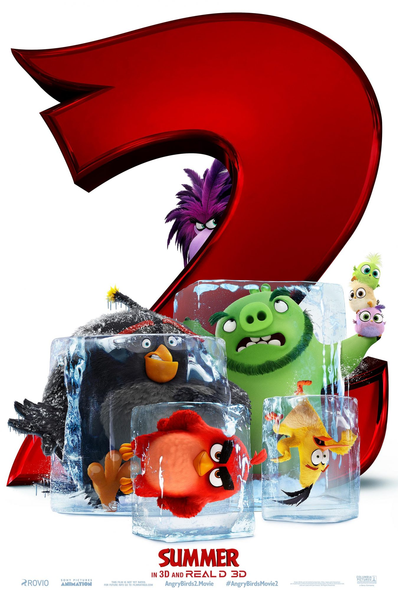 THE ANGRY BIRDS MOVIE 2 movie posterCR: Sony Pictures Entertainment
