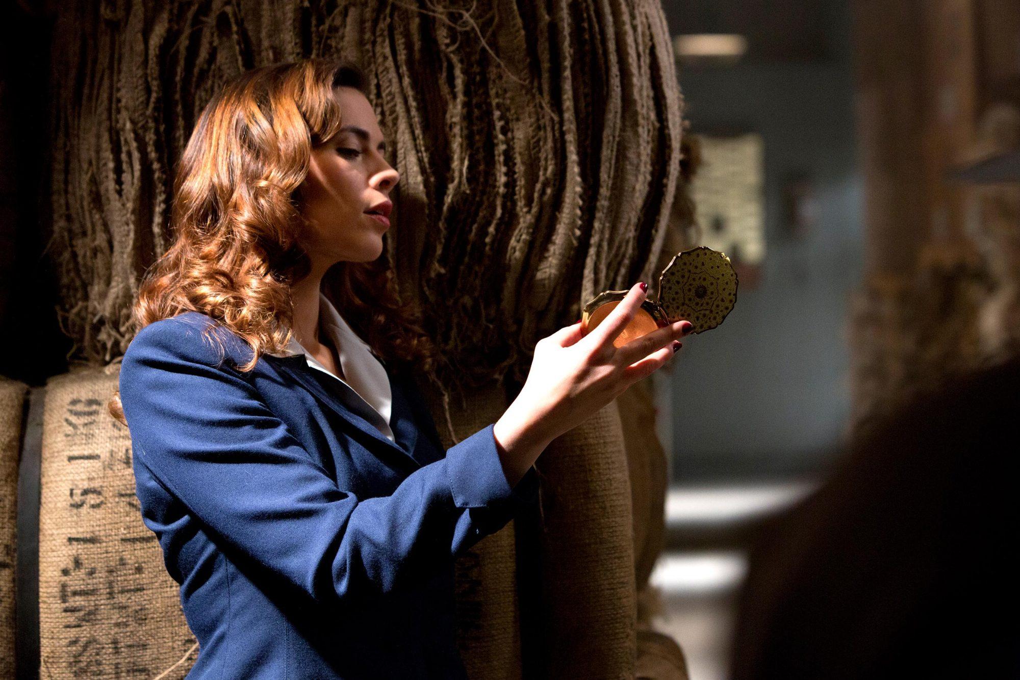 Marvel One-Shot: Agent CarterHayley Atwellon Iron Man 3 DVD