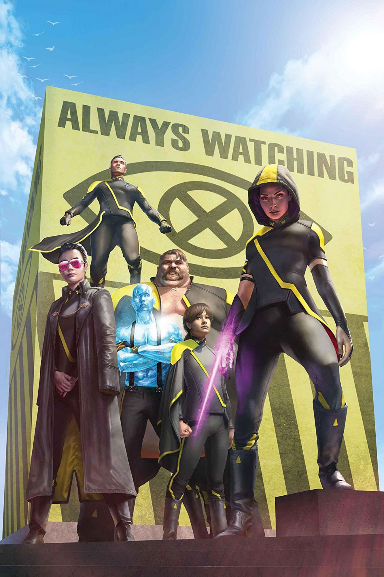 Age Of X-Man: X-Tremists (2019) #1 (of 5)CR: Marvel Comics