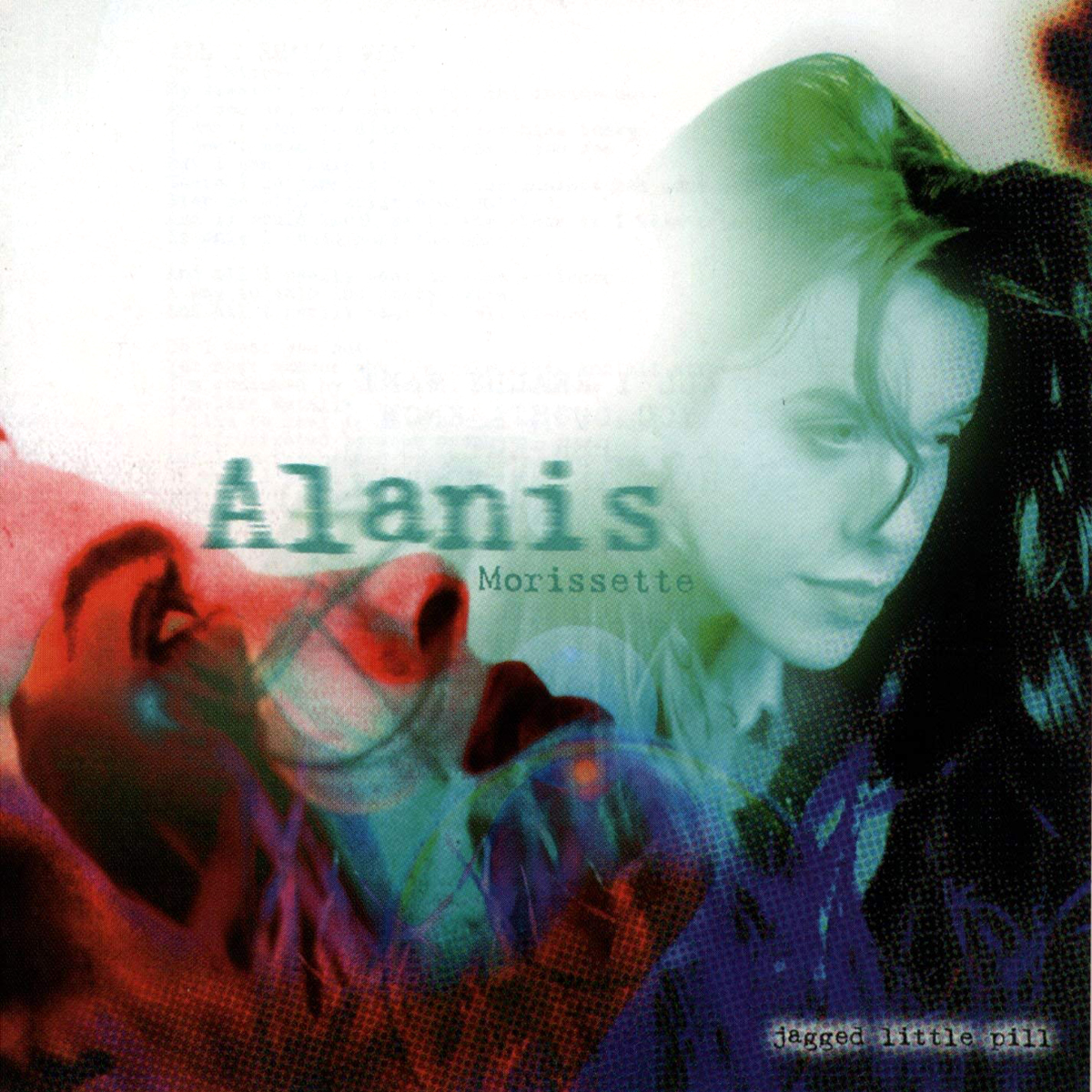Alanis MorissetteÕs Jagged Little Pill album cover