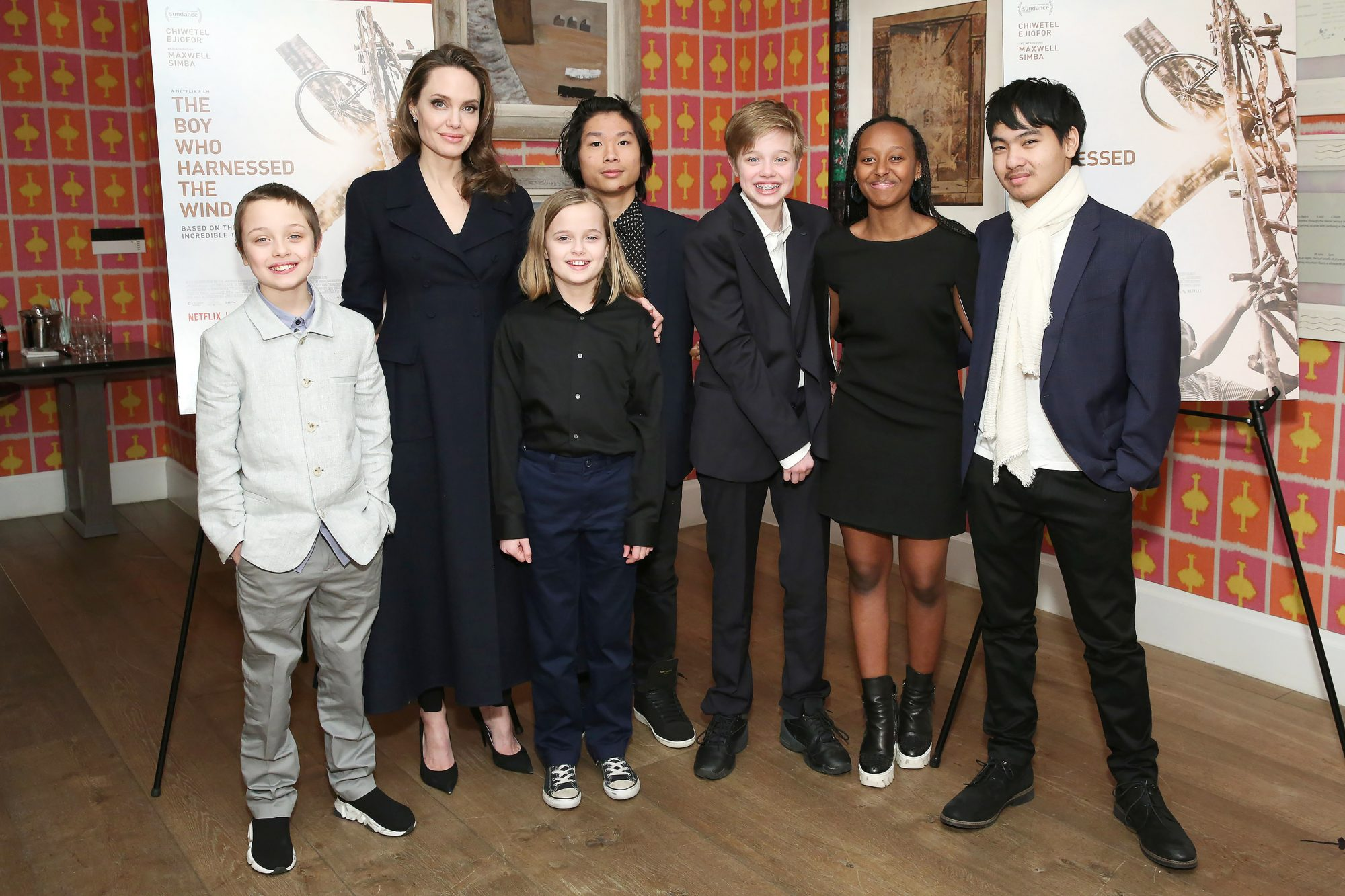 "BESTPIX - ""The Boy Who Harnessed The Wind"" Special Screening, Hosted by Angelina Jolie"